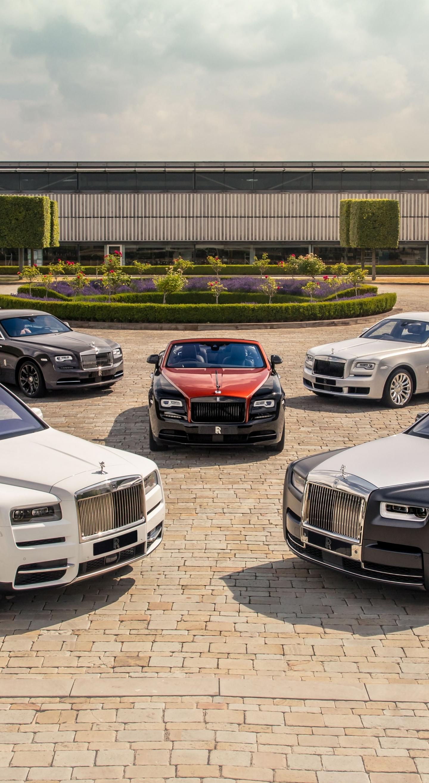 Download 1440x2630 Wallpaper Rolls Royce Ghost Rolls Royce