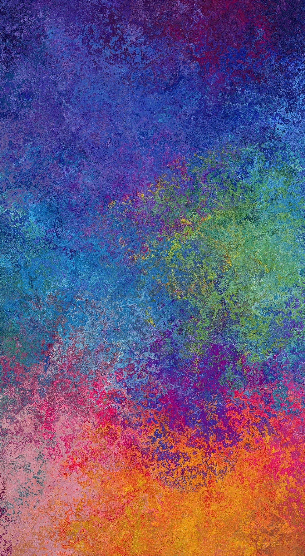 Download 1440x2630 Wallpaper Texture Colorful Splatters