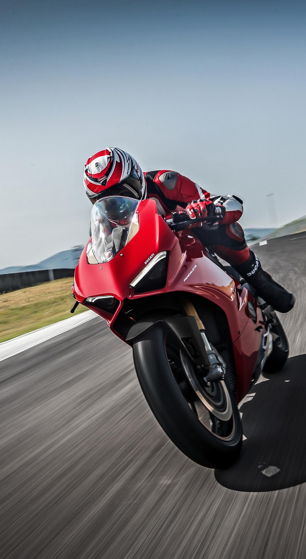 Ducati panigale v4, speciale, 2018, racing bike, 1440x2630 wallpaper