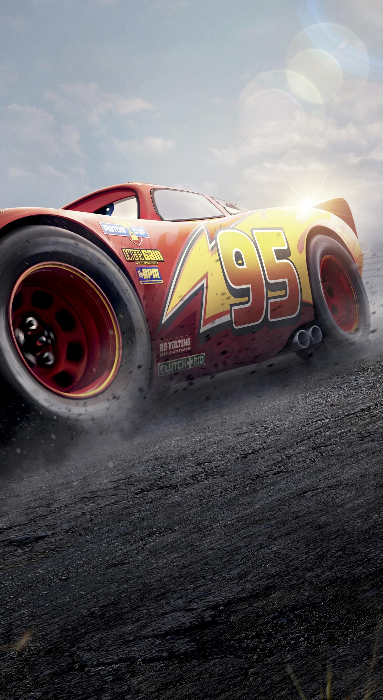 Download 1440x2630 Wallpaper Cars 3 Red Lightning Mcqueen 2017