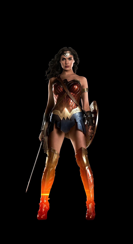 Download 1440x2630 wallpaper justice league, wonder woman ...