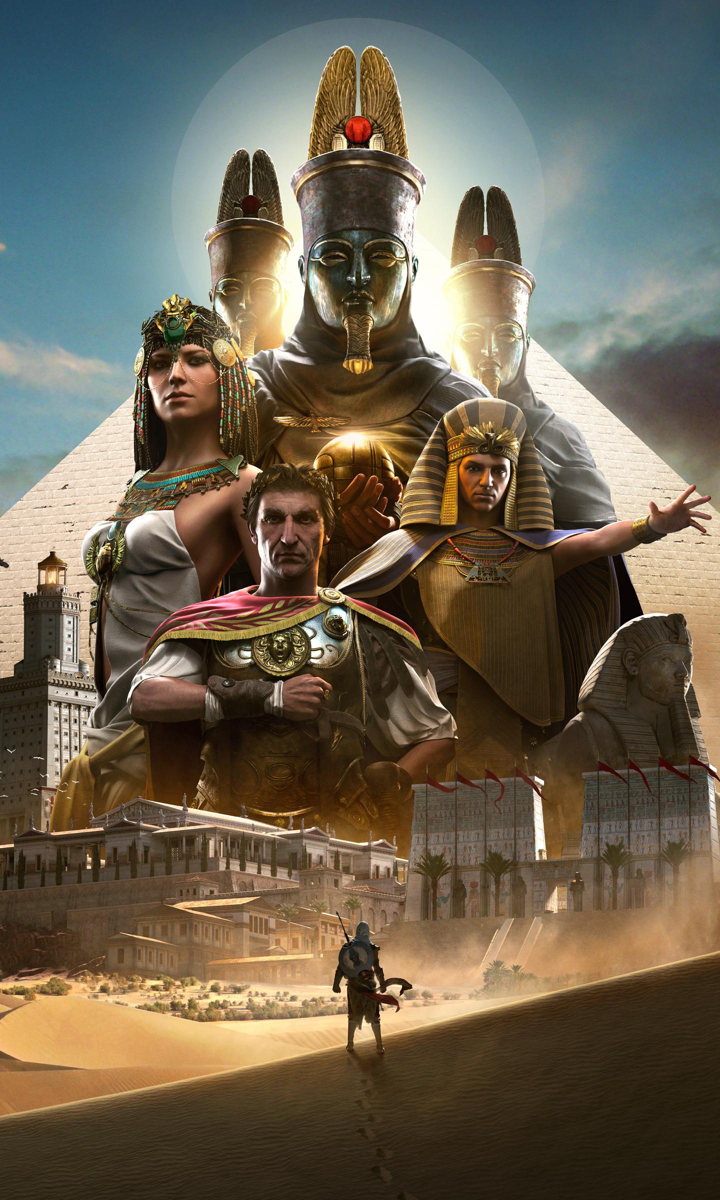 Download 1440x2630 Wallpaper Assassin S Creed Origins 2017 Game