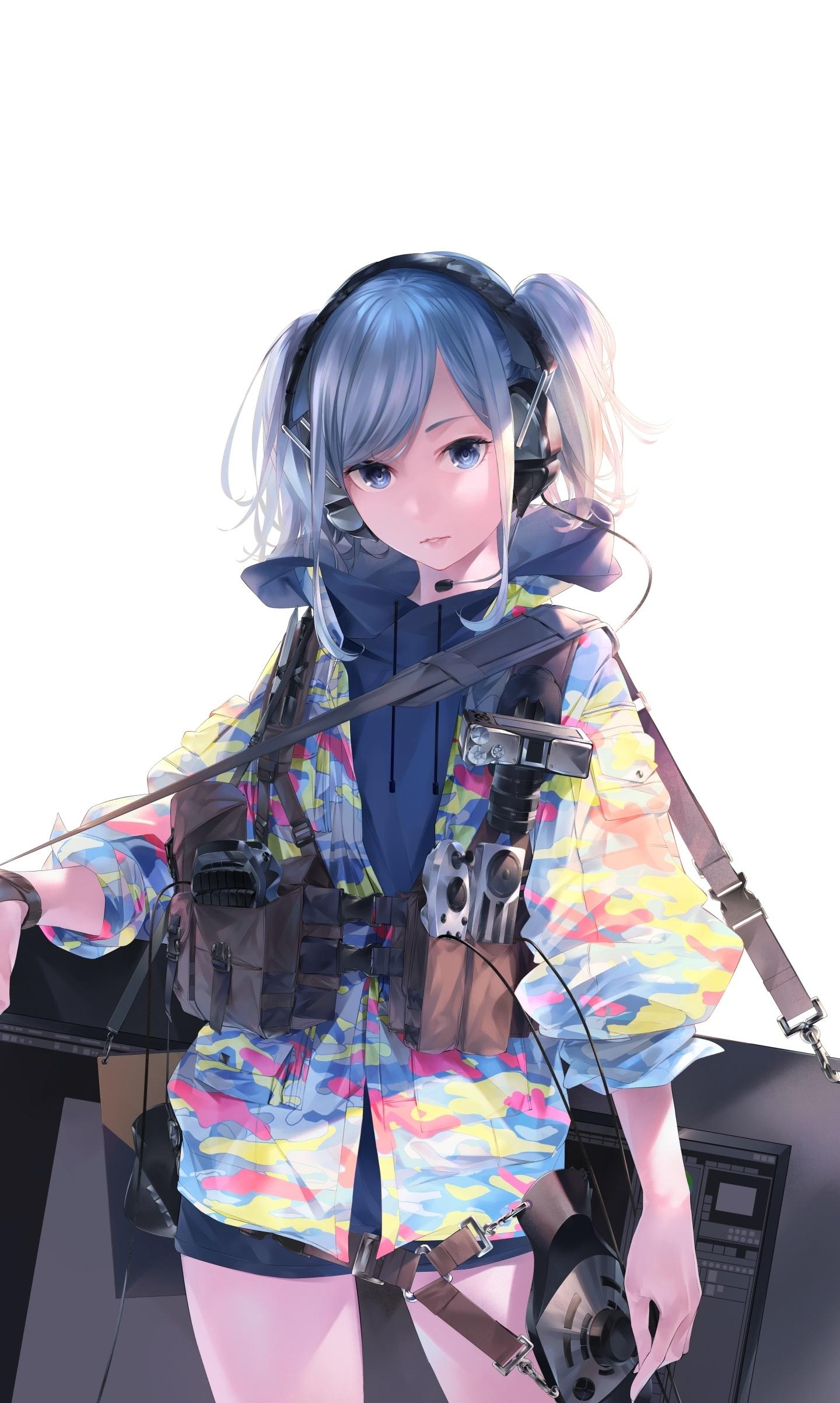 Anime Girl Cool With Jacket - Anime Wallpapers