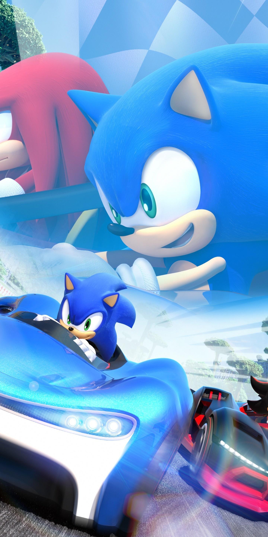 Download 1440x2880 Wallpaper Sonic The Hedgehog Video Game Kart Racing Game Nintendo Lg V30 Lg G6 1440x2880 Hd Image Background 8471