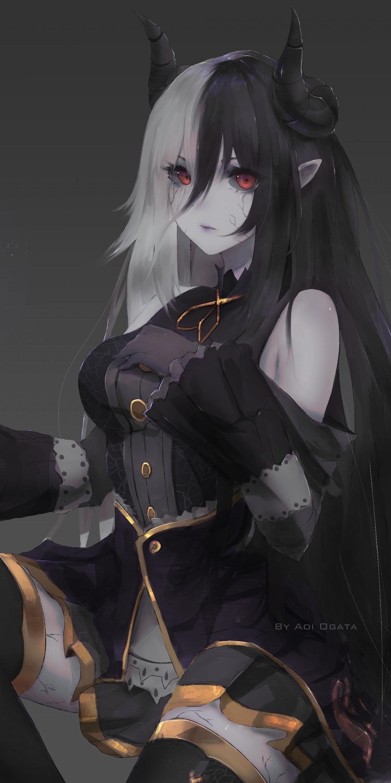 Devil Anime Girl Magic Dark X Wallpaper