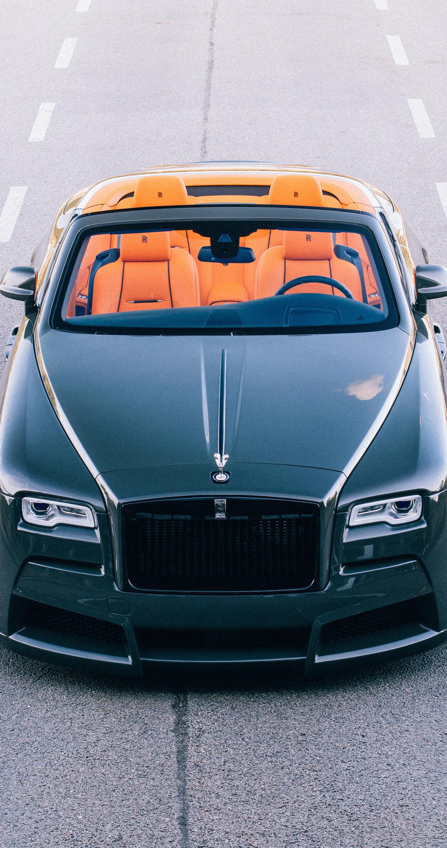 2017 spofec Rolls-Royce Dawn overdose, front view, 1440x2880 wallpaper