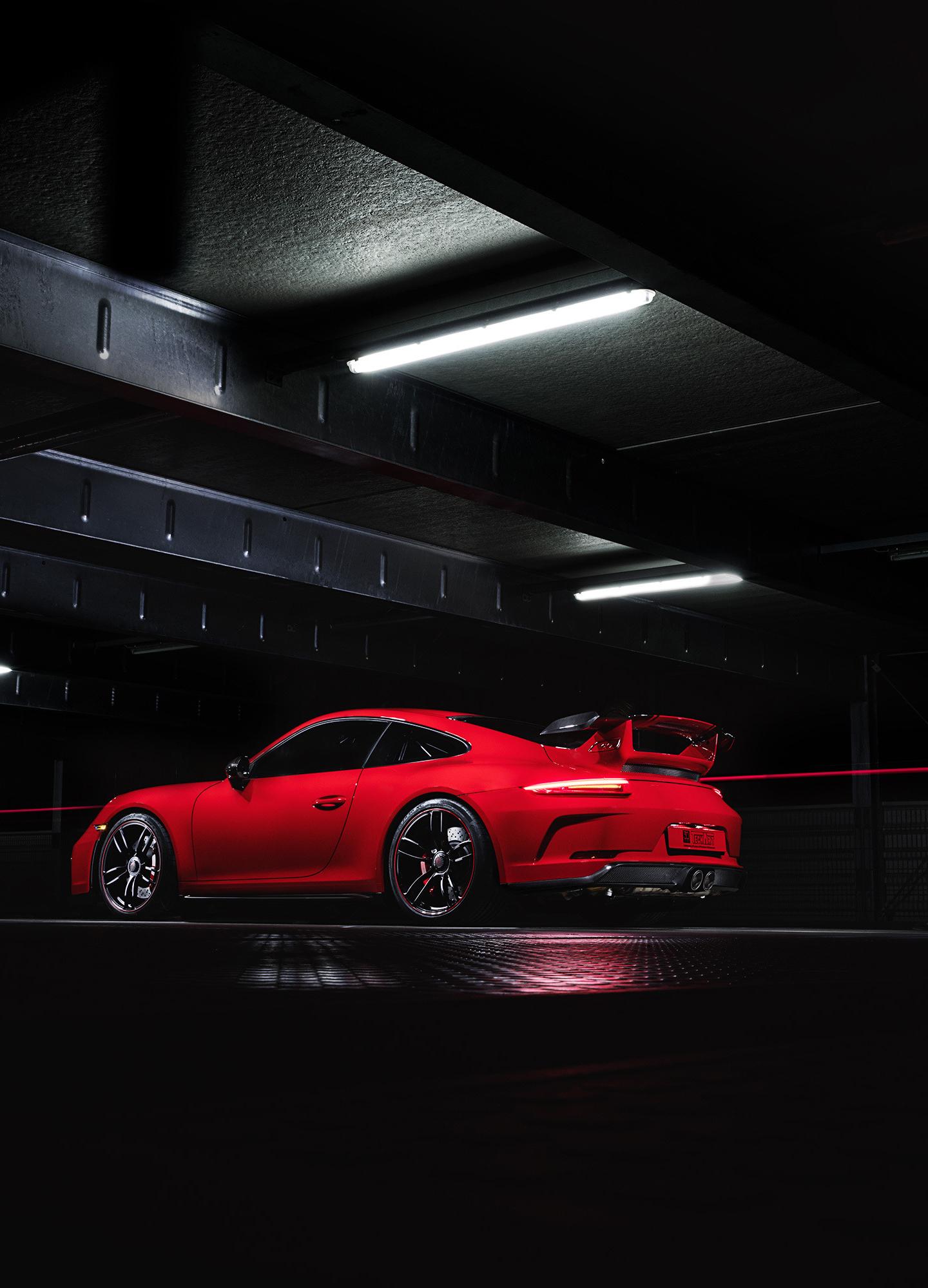 2018 Techart Porsche 911 Gt3 Red