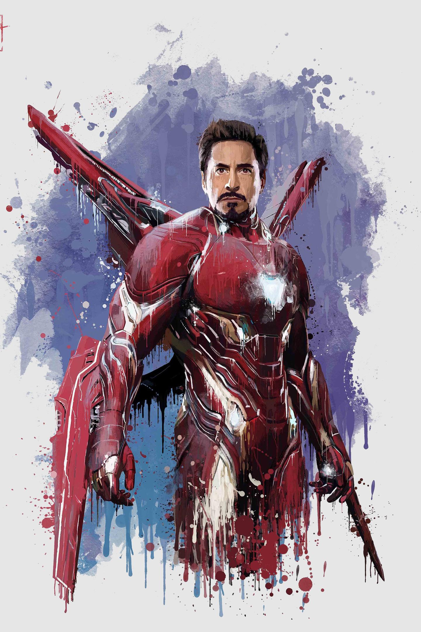 Download 1440x2880 Wallpaper Iron Man New Suit Avengers