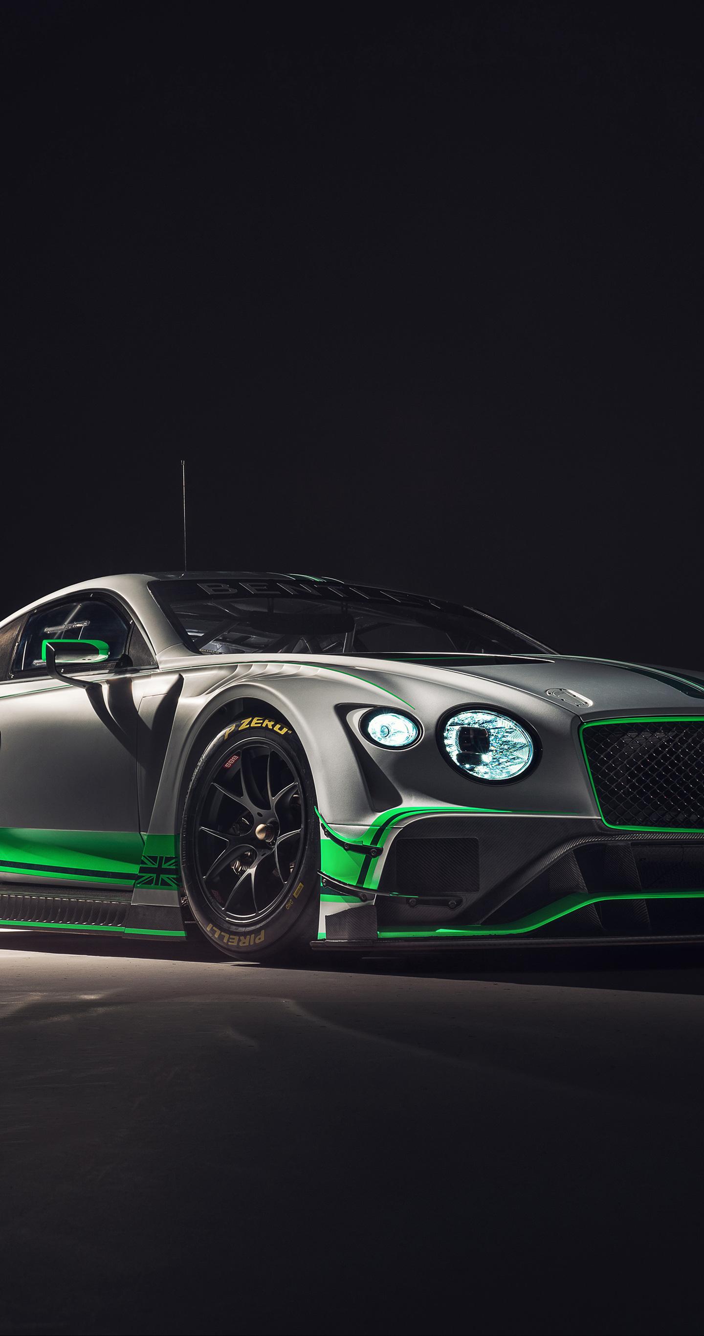 2018 Bentley Continental GT3, 2018 luxury car, 1440x2880 wallpaper