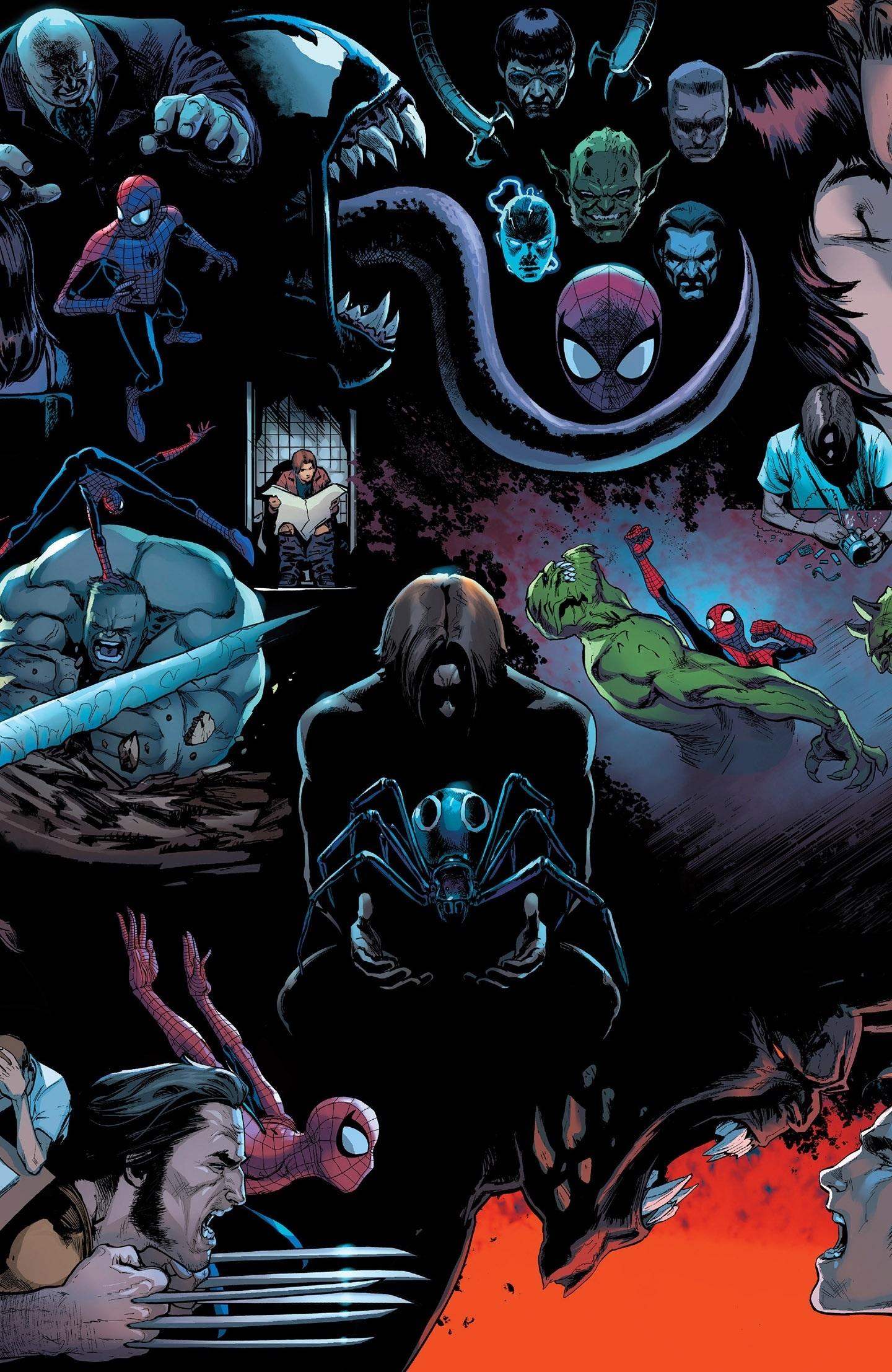 Download 1440x2880 Wallpaper Spider Man Marvel Comics Dark Lg