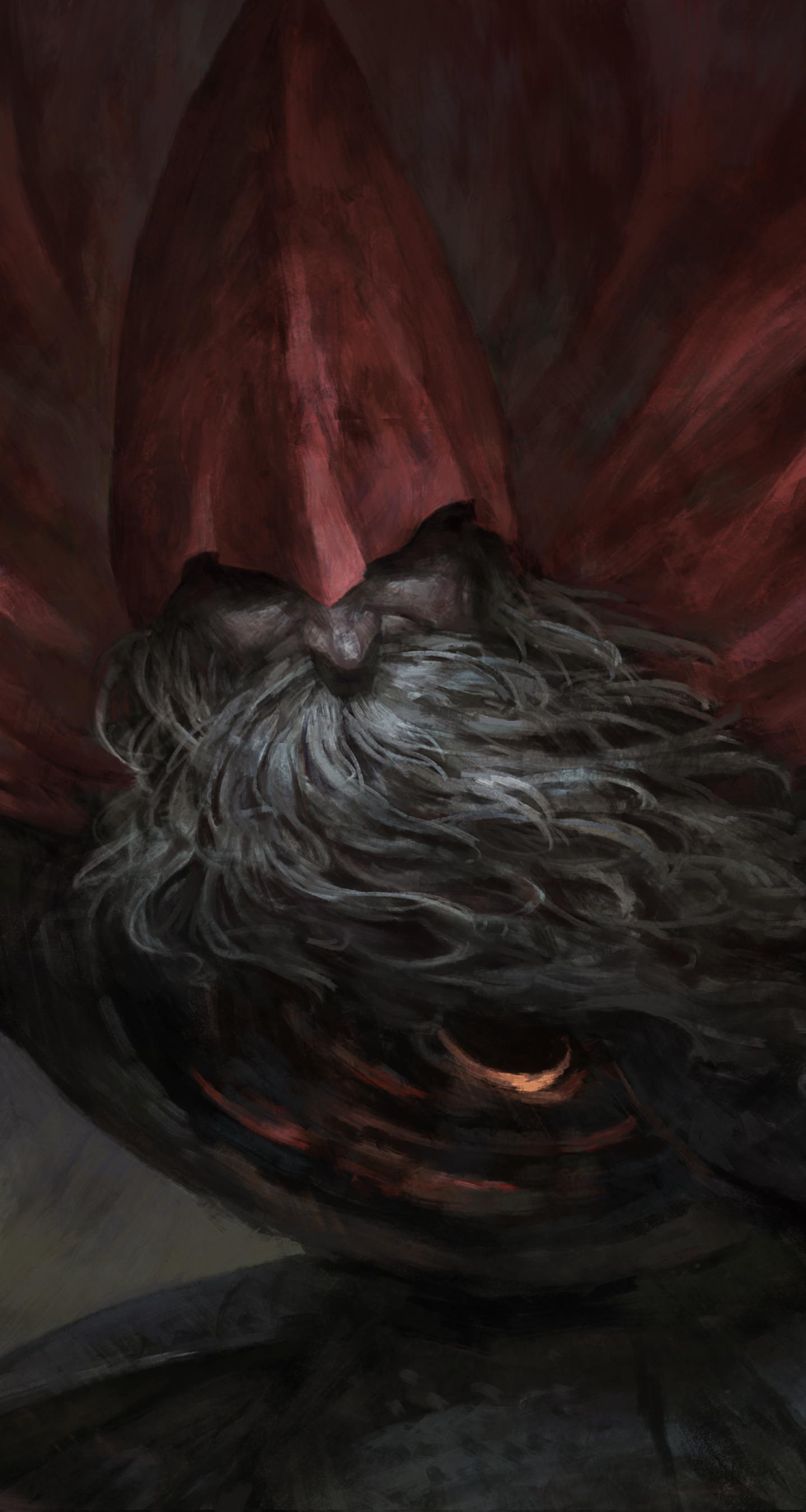 Download 1440x2960 Wallpaper Big Beard Man Warrior Dark Souls