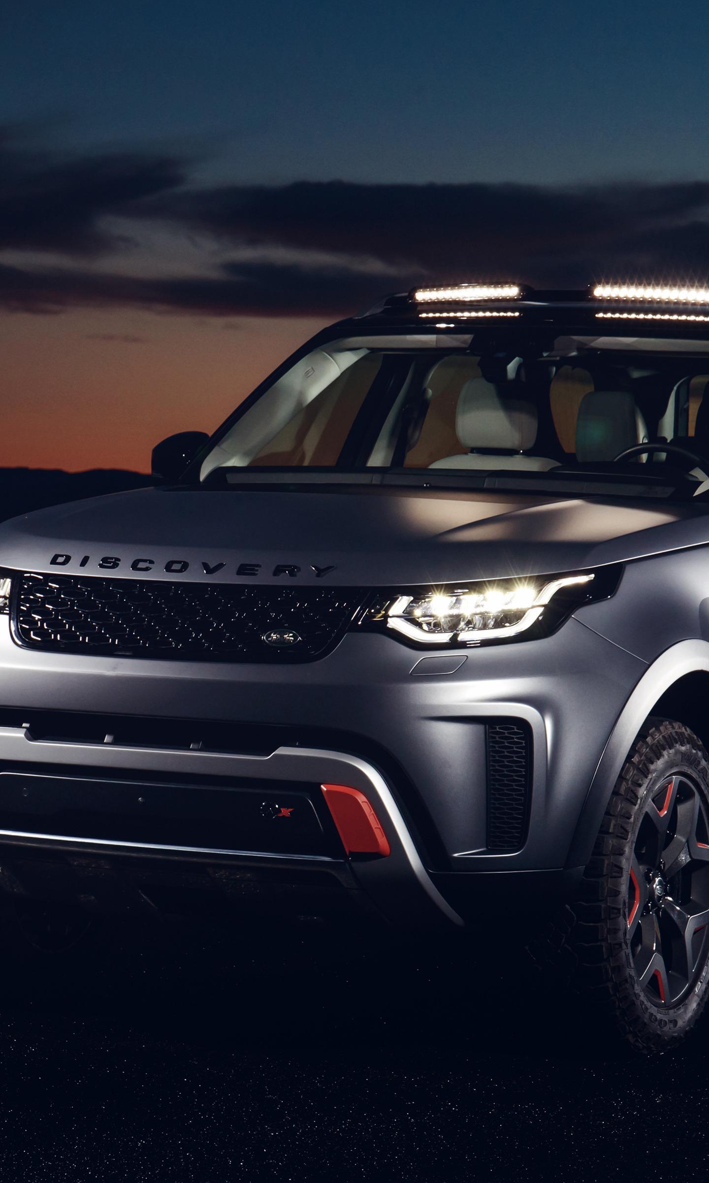 2018 Land Rover Discovery Svx, Suv Car, 1440X2960 Wallpaper