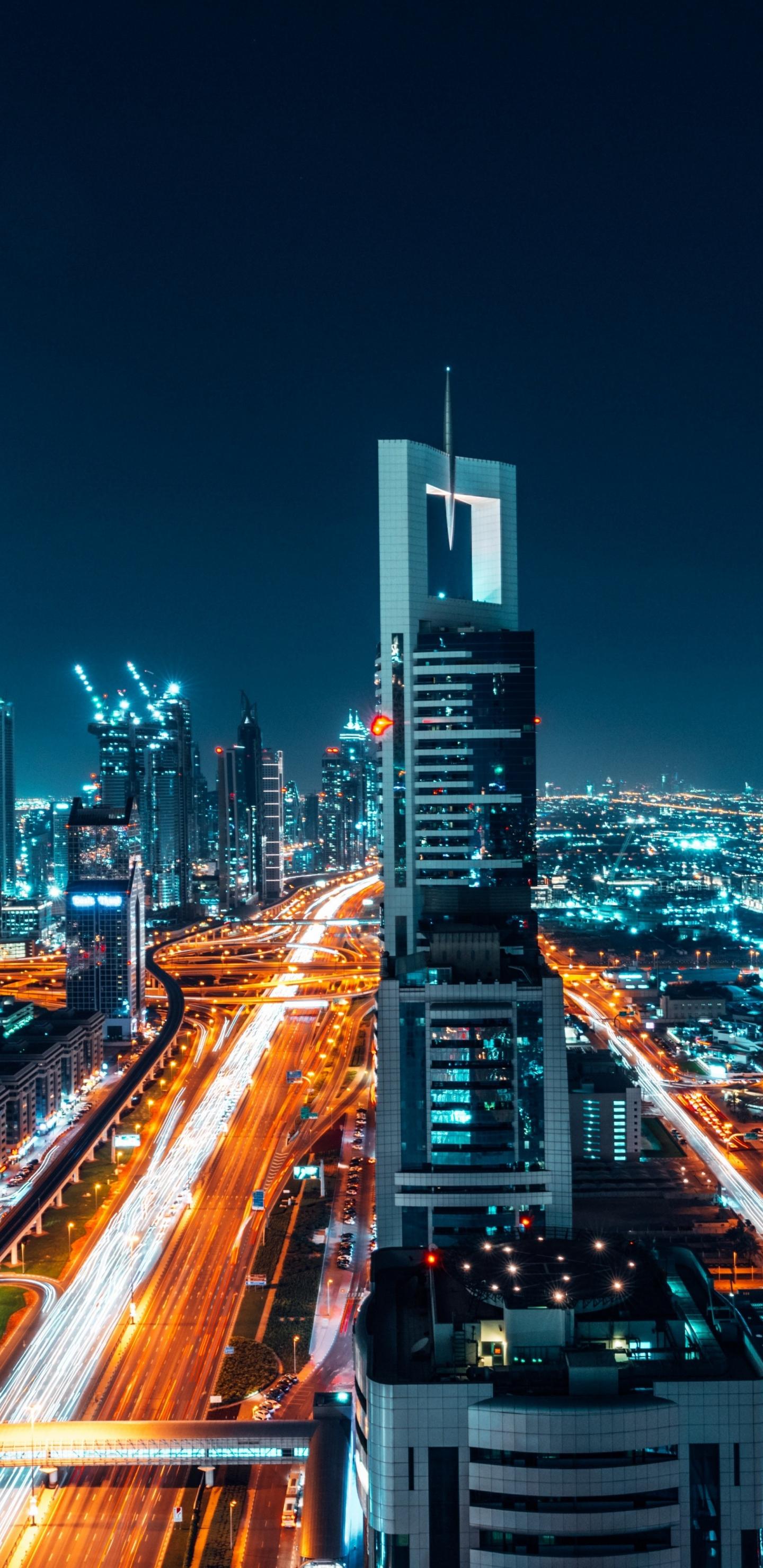 Download 1440x2960 Wallpaper Dubai City Buildings
