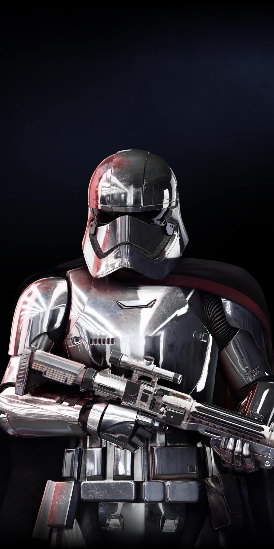 Download 1440x2960 Wallpaper Captain Phasma Star Wars Battlefront