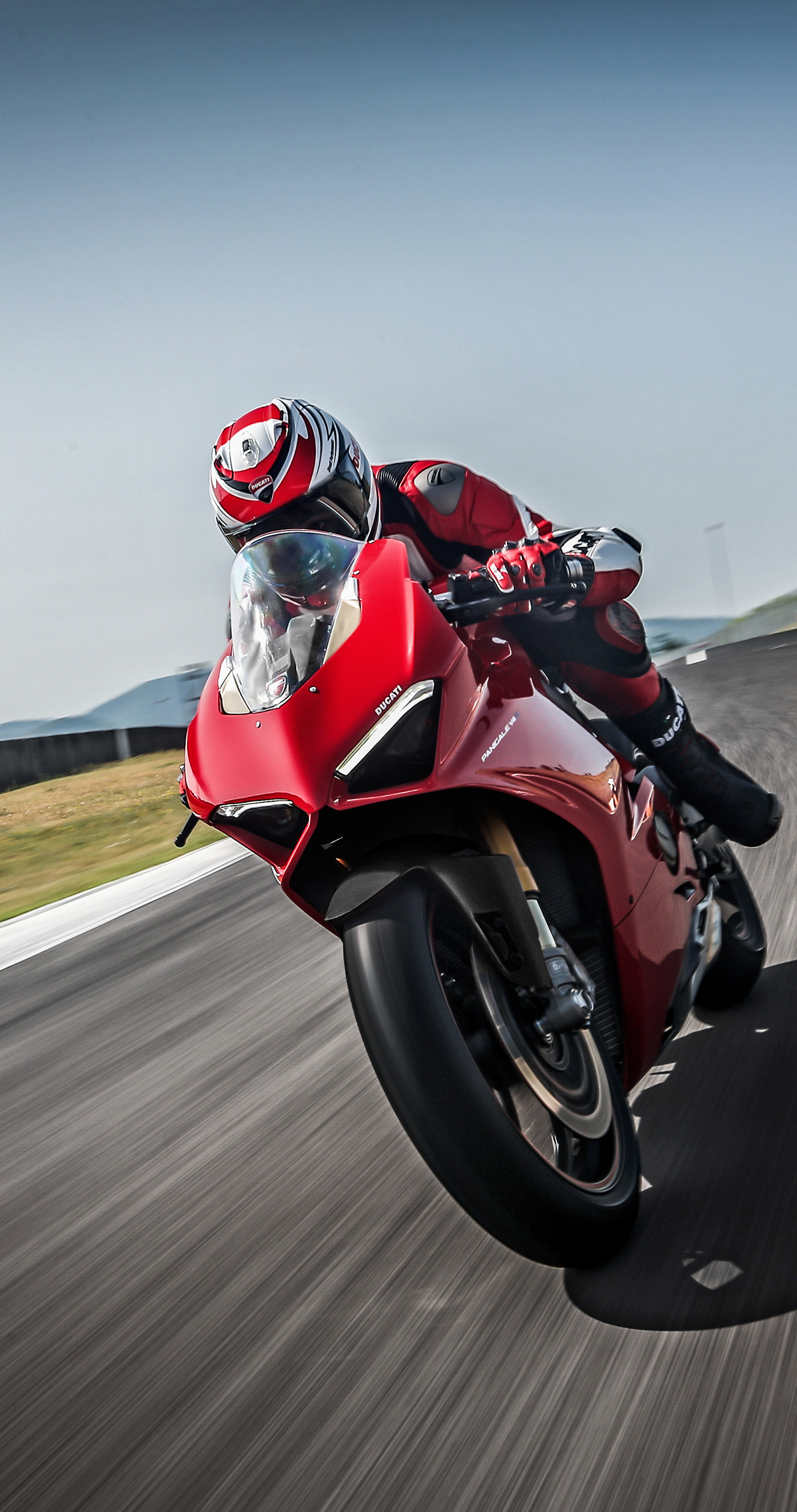Ducati panigale v4, speciale, 2018, racing bike, 1440x2960 wallpaper