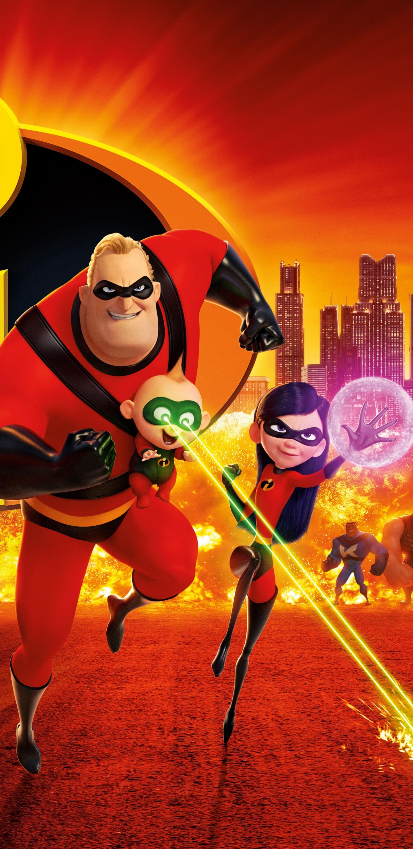 download 1440x2960 wallpaper 2018, animation movie, superheroes