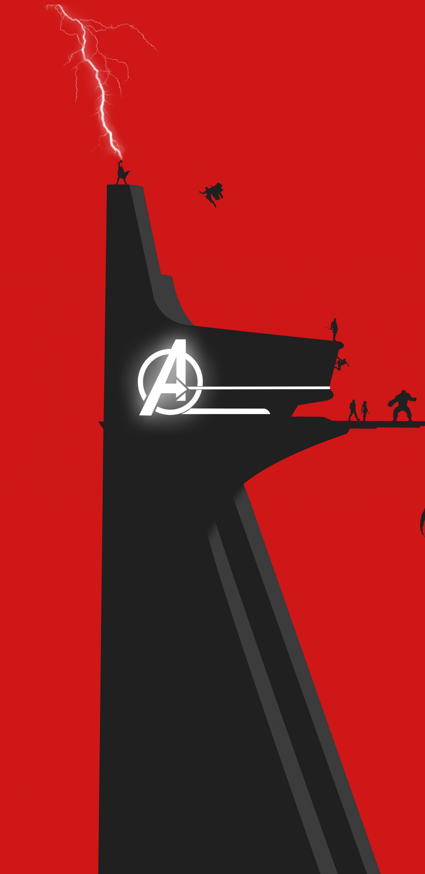 Download 1440x2960 wallpaper avengers