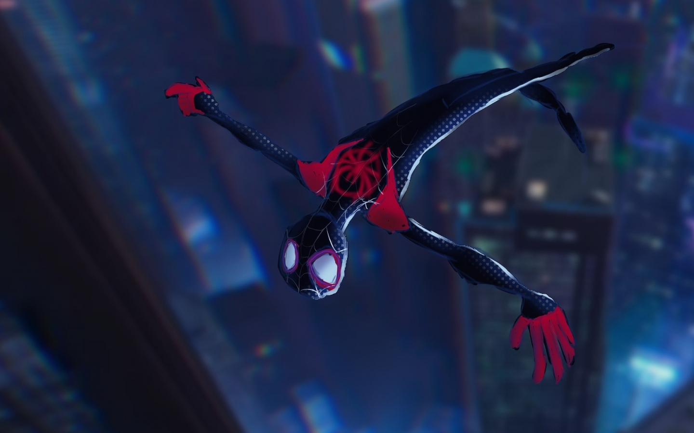 Download 1440x900 Wallpaper Spider Man Into The Spider Verse