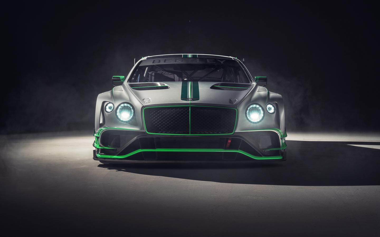 Bentley continental GT3, 2018 car, front, 1440x900 wallpaper