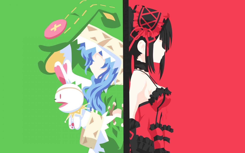 Download 1440x900 Wallpaper Yoshino Kurumi Tokisaki Date A Live