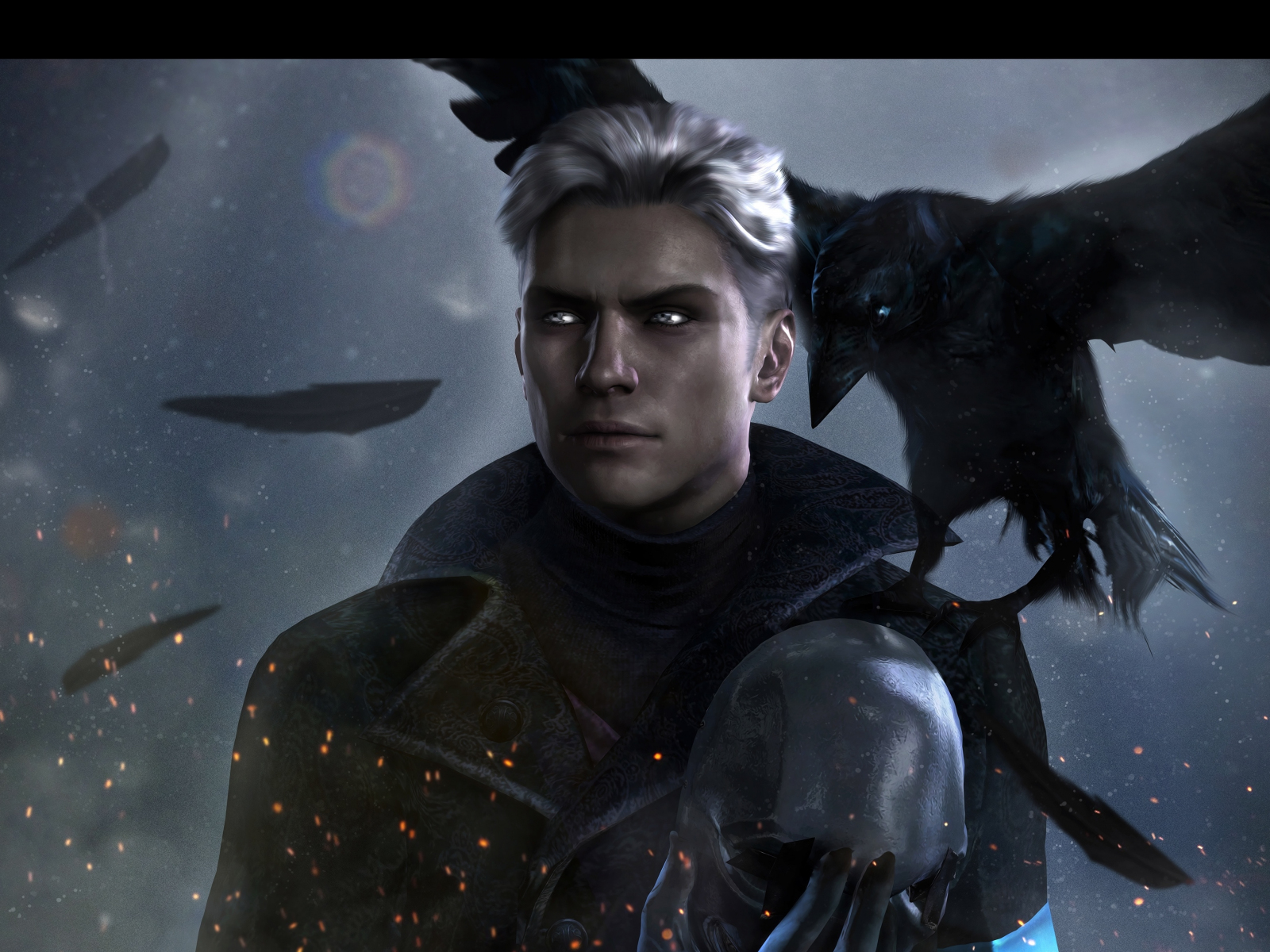 Download 1600x1200 Wallpaper Vergil Devil May Cry 5 Video