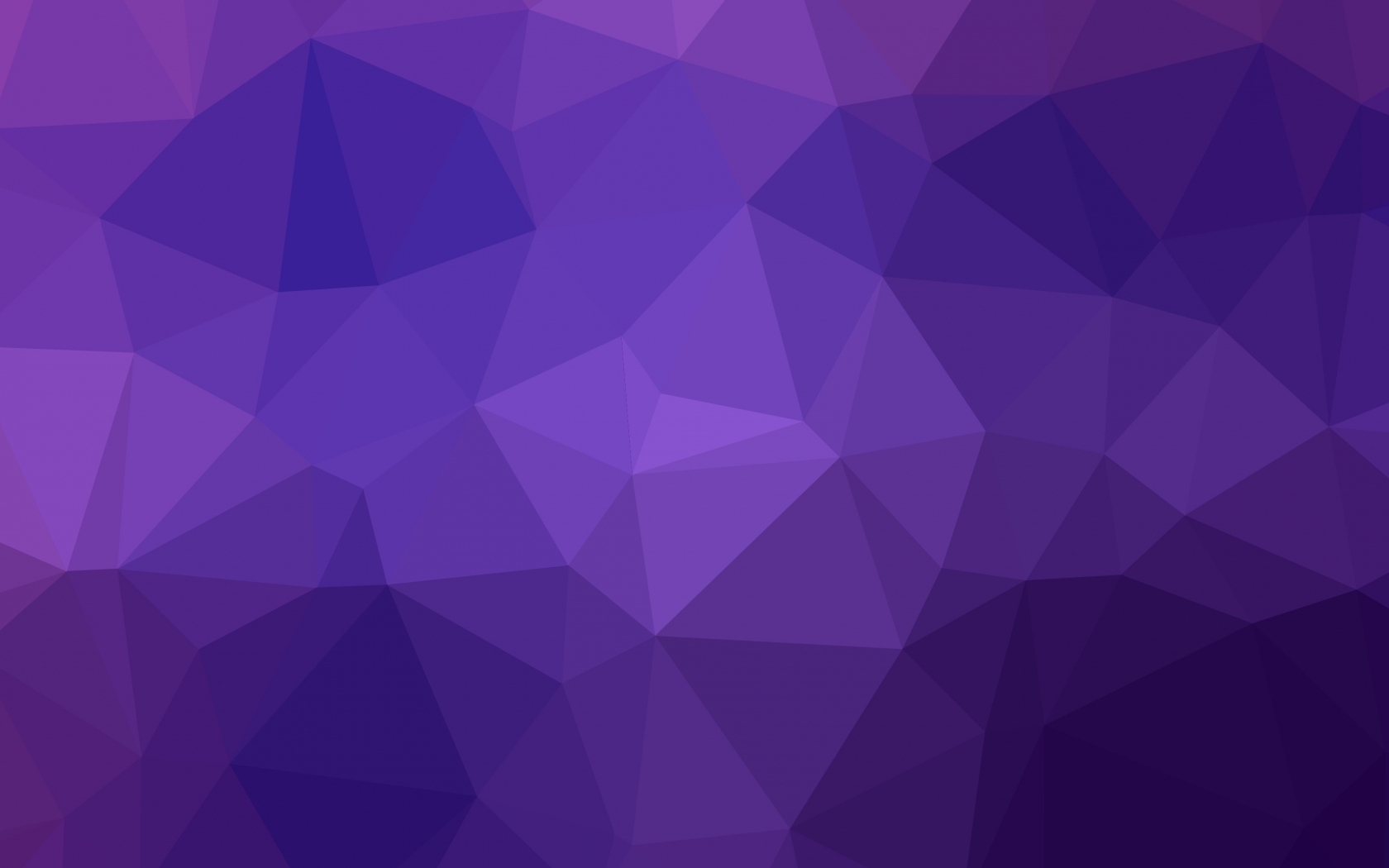 Geometry Triangles Gradient Purple Abstract 1680x1050 Wallpaper