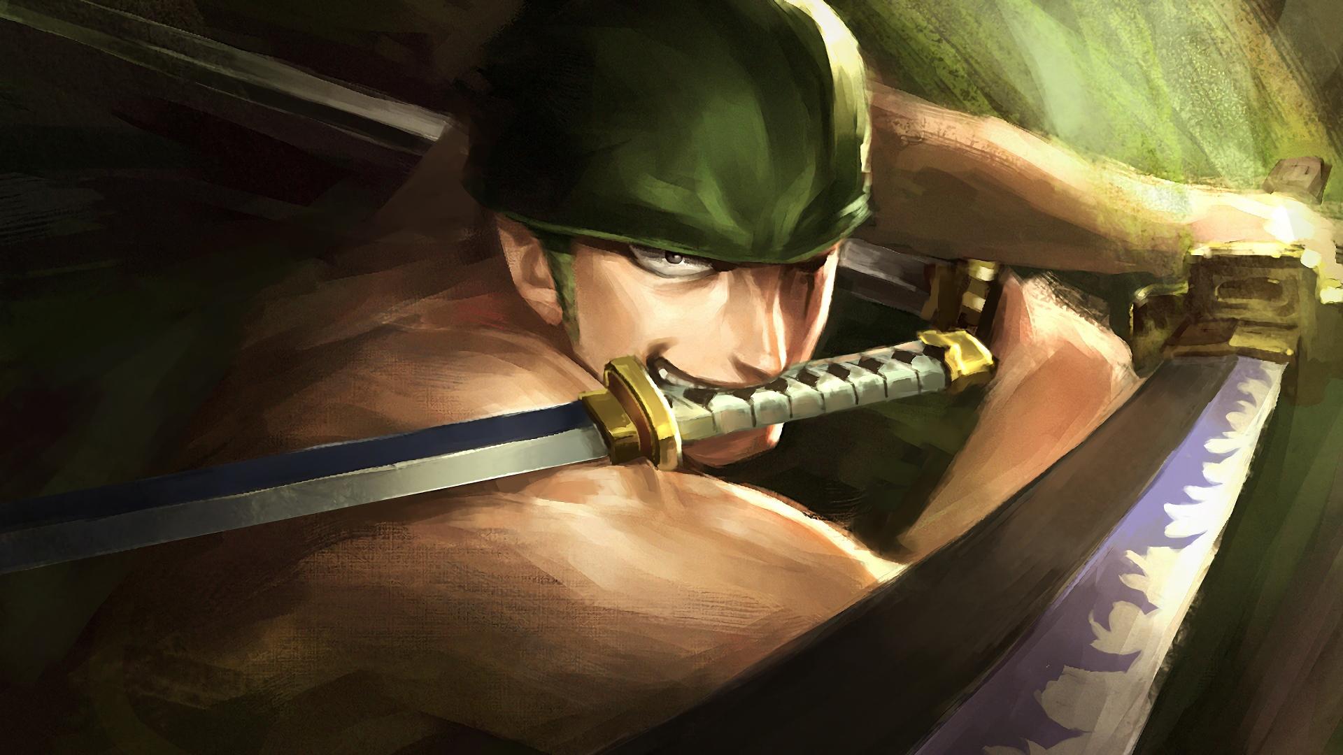 Download 1920x1080 Wallpaper Artwork Warrior Roronoa Zoro One Piece Full Hd Hdtv Fhd 1080p 1920x1080 Hd Image Background 10054