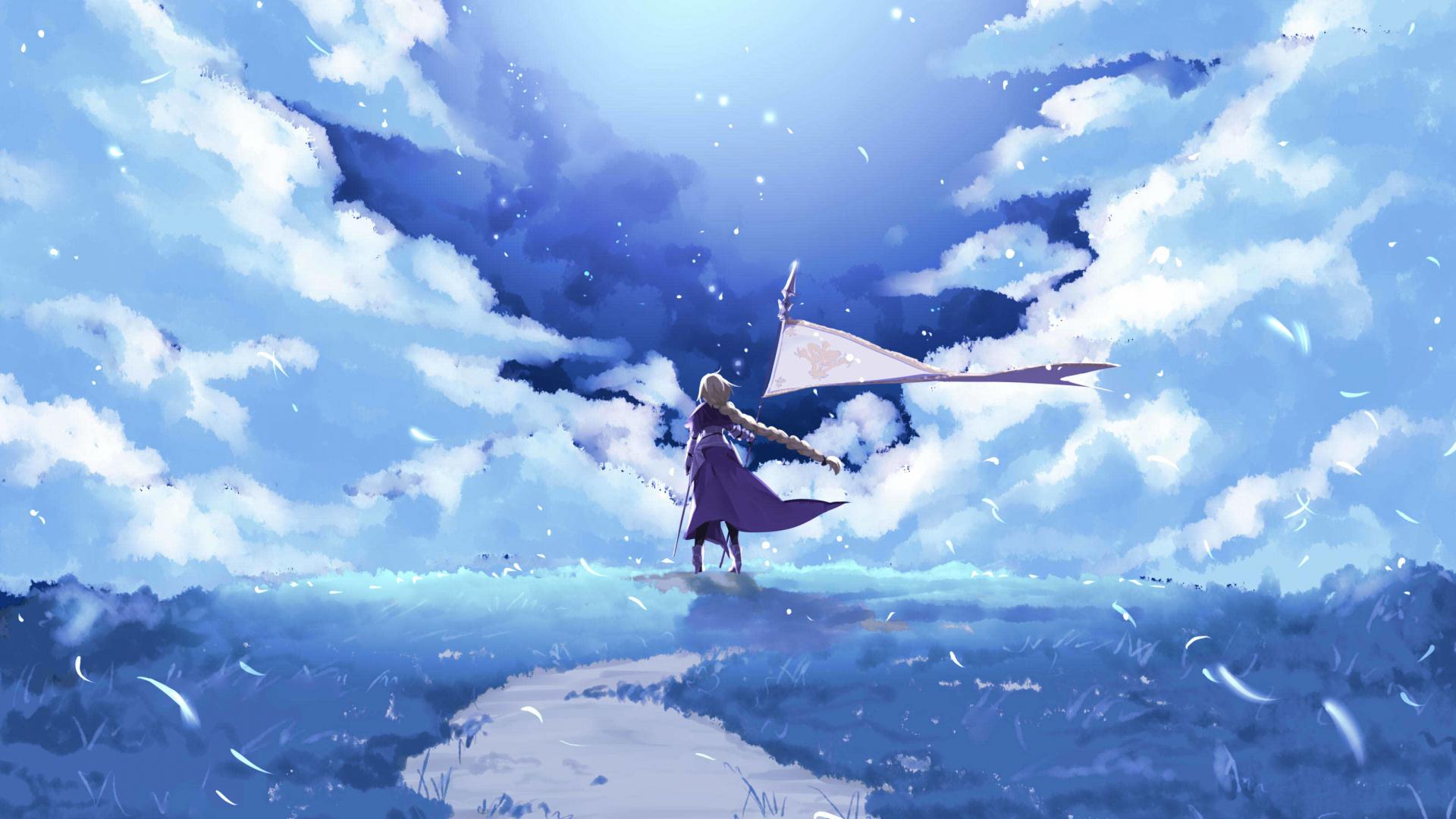 Download 1920x1080 Wallpaper Fate Grand Order Ruler Anime