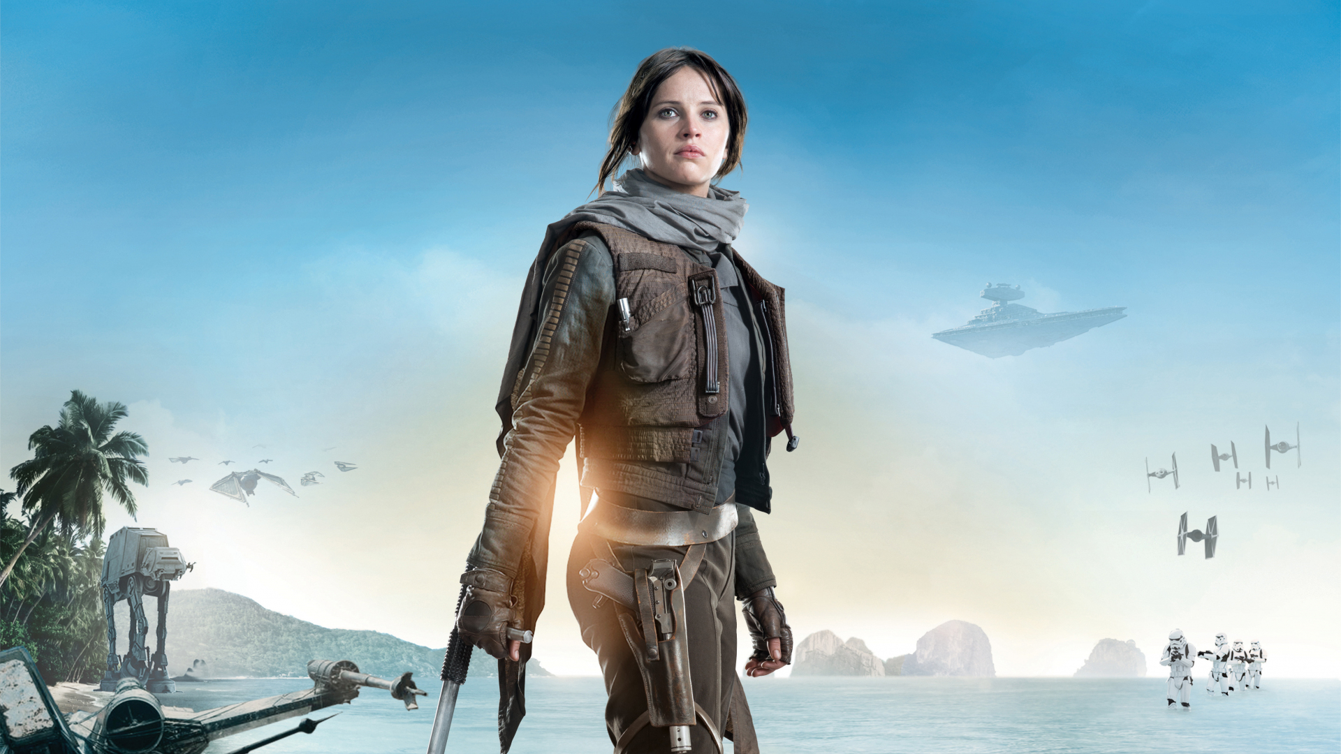Download 1920x1080 Wallpaper Rogue One A Star Wars Story Felicity