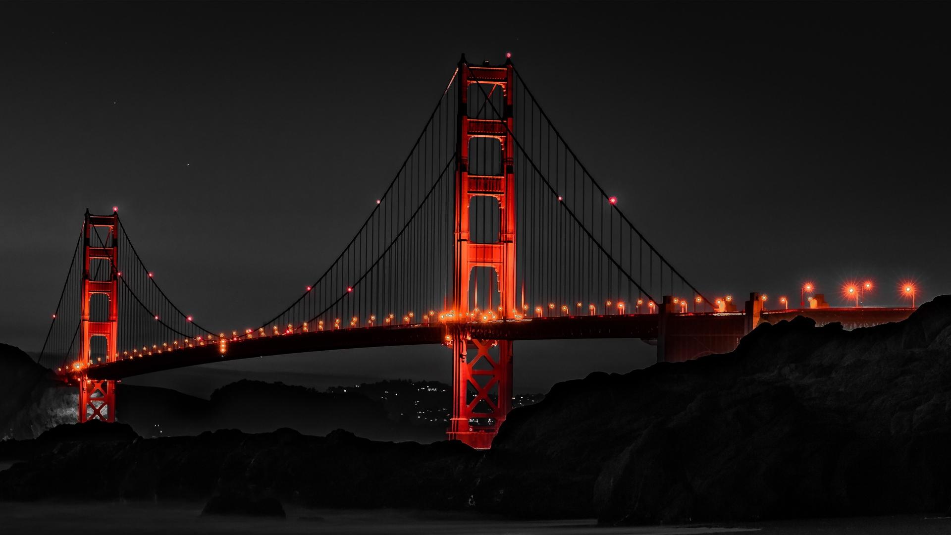 Download 1920x1080 Wallpaper Golden Gate Bridge San Francisco