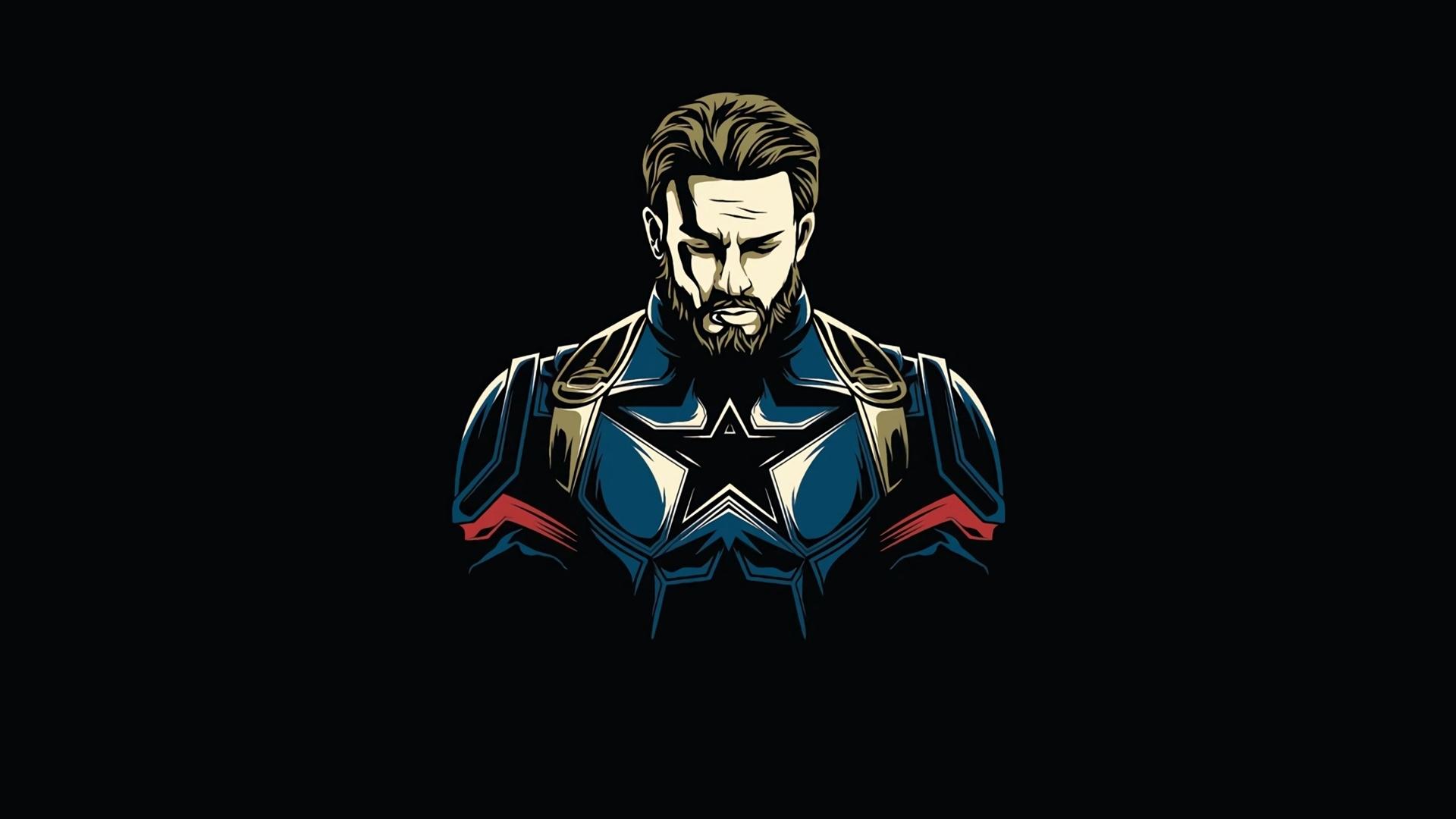 Download 1920x1080 Wallpaper First Avenger Captain America