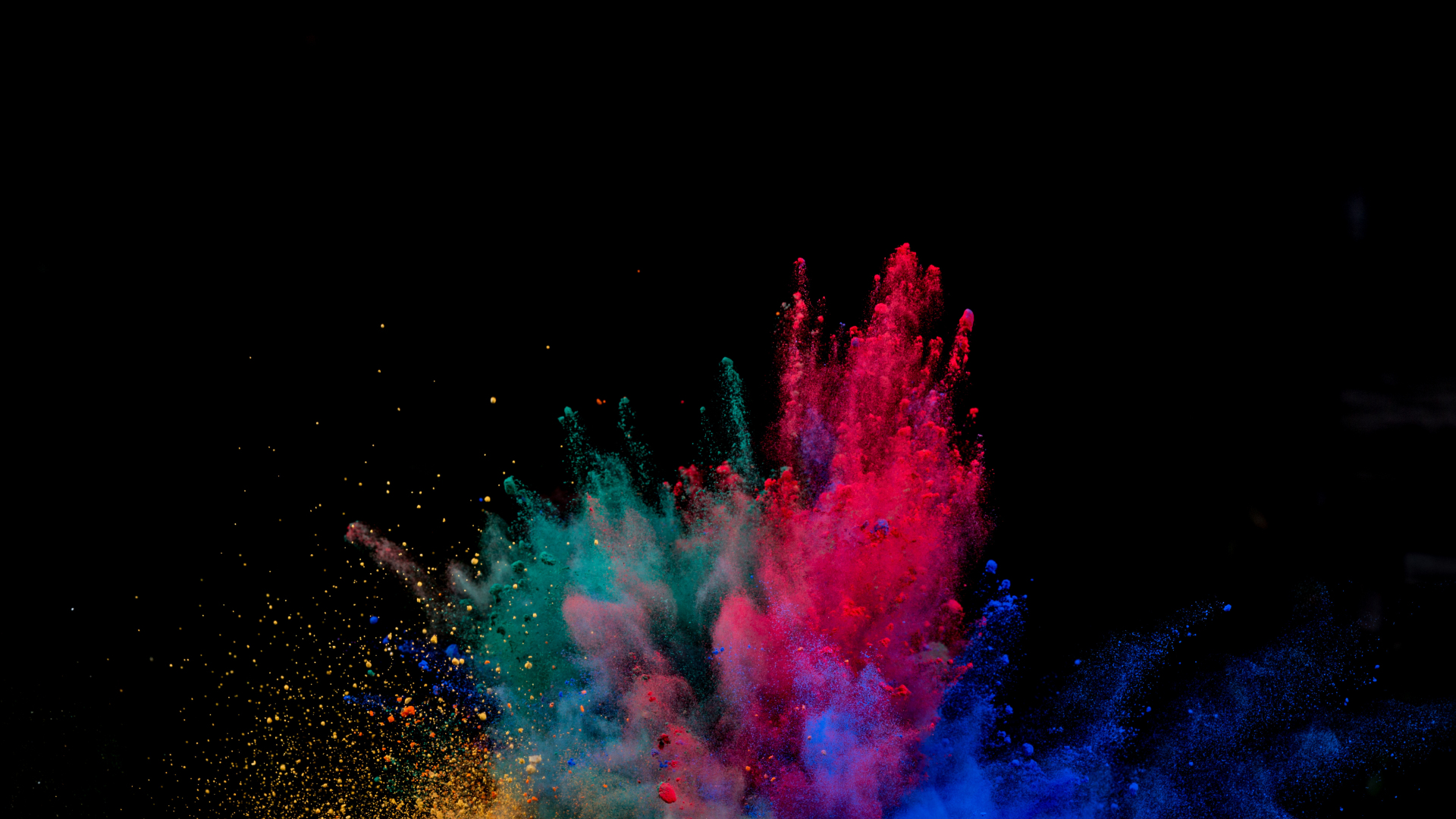 Download 1920x1080 wallpaper colors blast explosion colorful full hd hdtv fhd 1080p - 1366x768 is 720p or 1080p ...