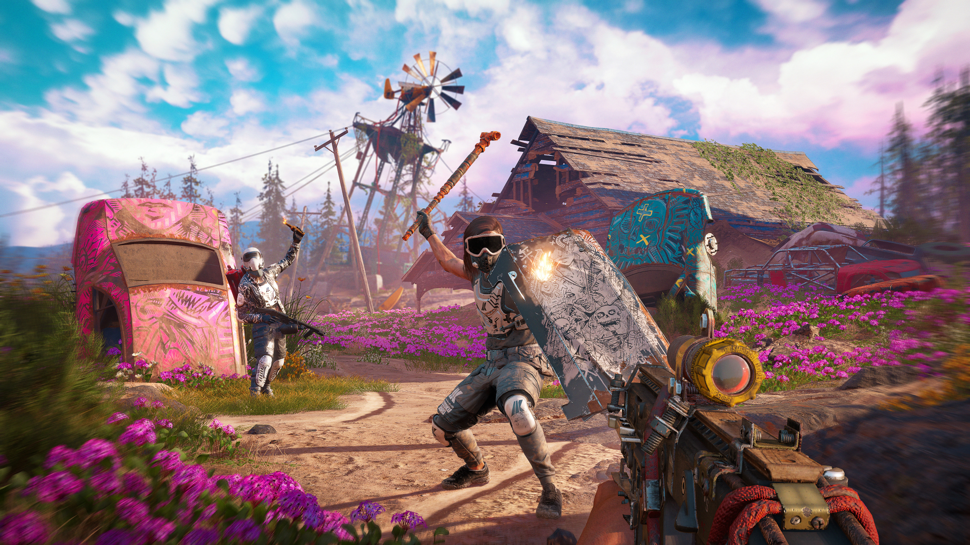 Download 1920x1080 Wallpaper Far Cry New Dawn Video Game 2018