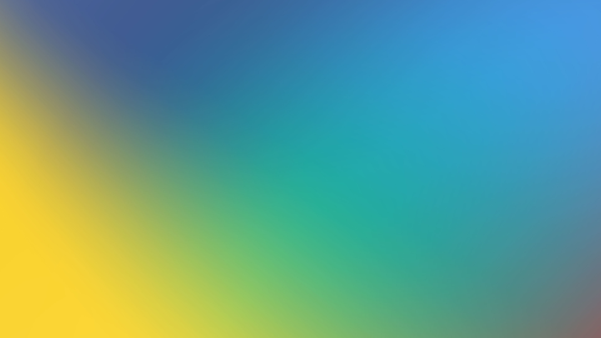 Download 1920x1080 Wallpaper Blue Yellow Gradient Abstract