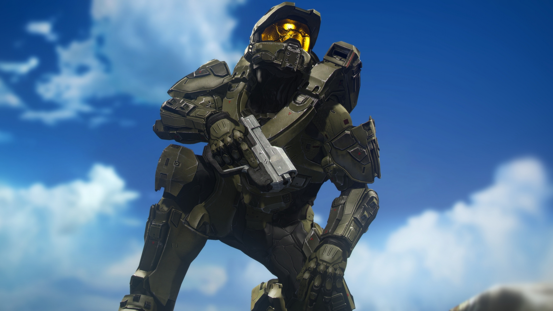 Download 1920x1080 Wallpaper Master Chief Halo Video Game Soldier Full Hd Hdtv Fhd 1080p 1920x1080 Hd Image Background 10603