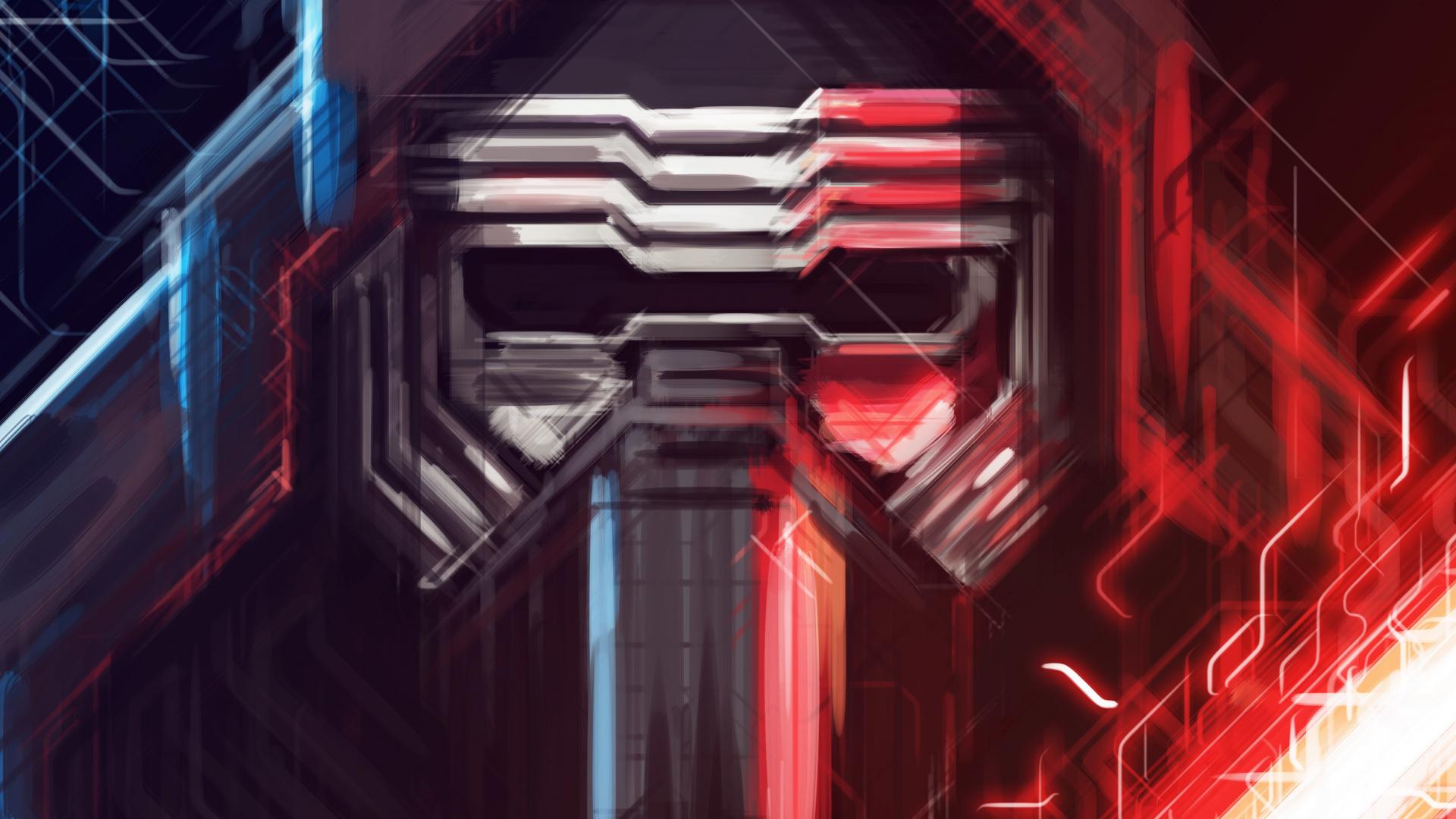Download 1920x1080 Wallpaper Kylo Ren Star Wars Villain