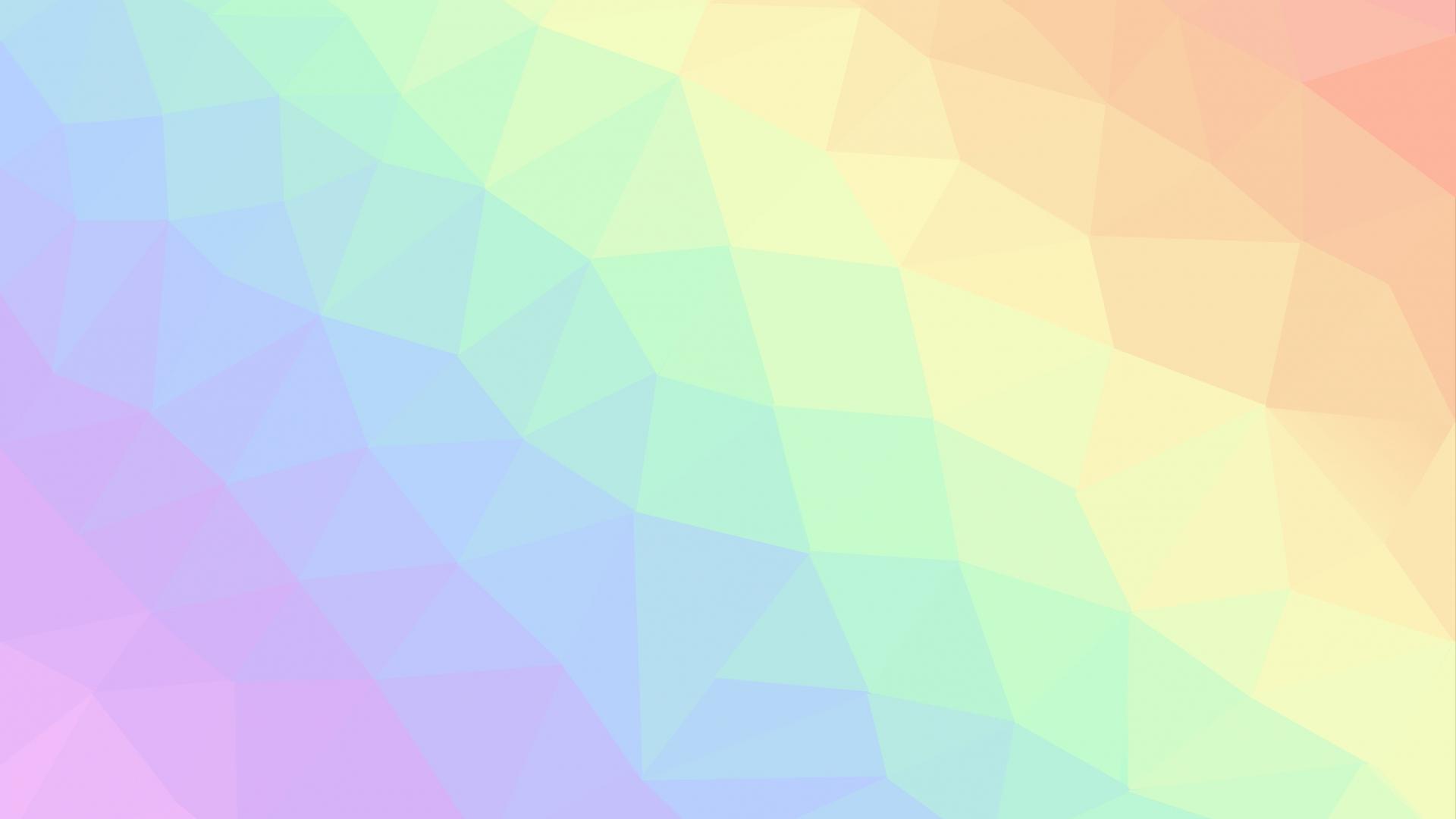 Download 1920x1080 Wallpaper Light Colors Geometric
