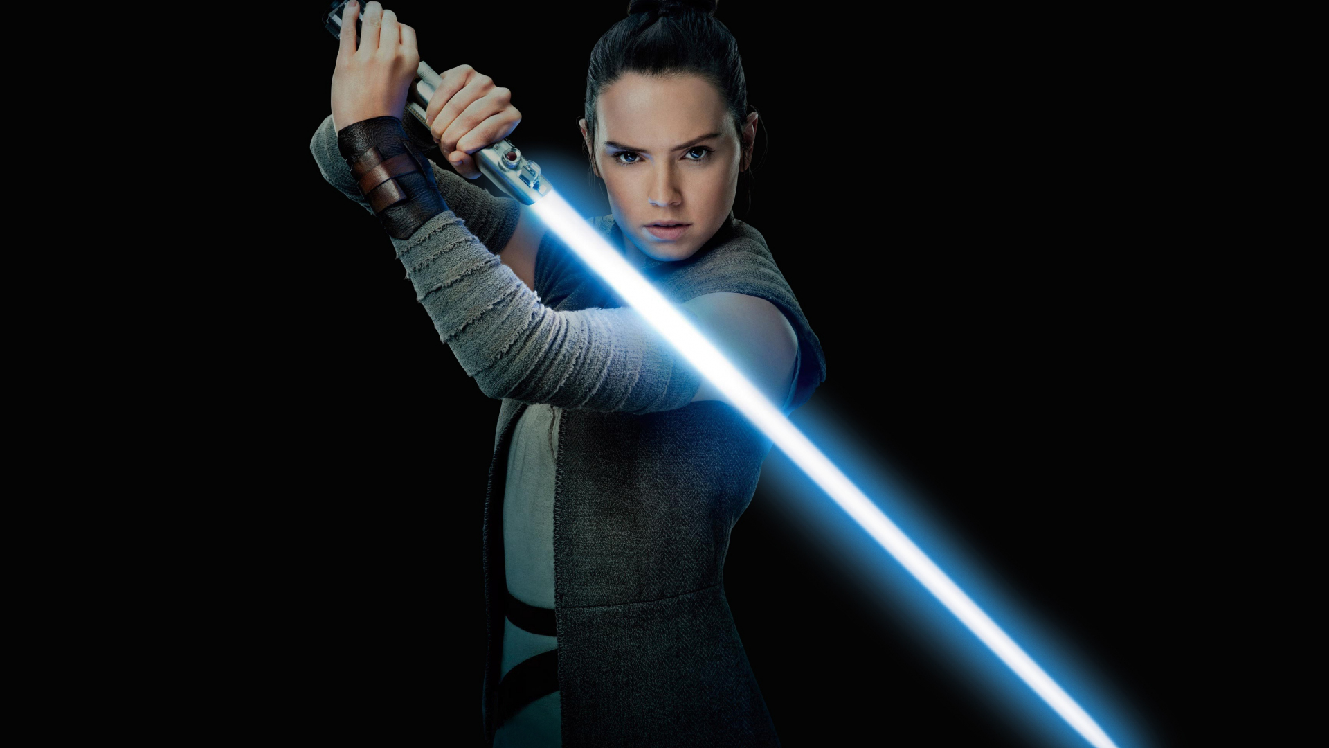 Download 1920x1080 Wallpaper Daisy Ridley Rey Star Wars The