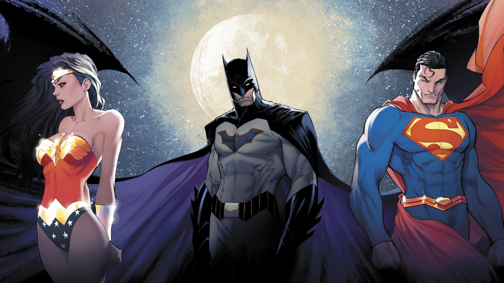 Download 1920x1080 Wallpaper Justice League Batman Superman