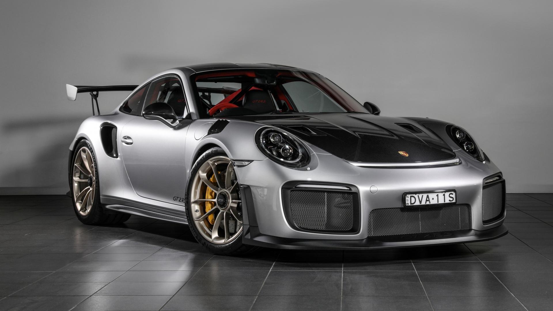 Download 1920x1080 Wallpaper 2018 Porsche 911 Gt3 Rs Grey Sports Car Full Hd Hdtv Fhd 1080p 1920x1080 Hd Image Background 5275