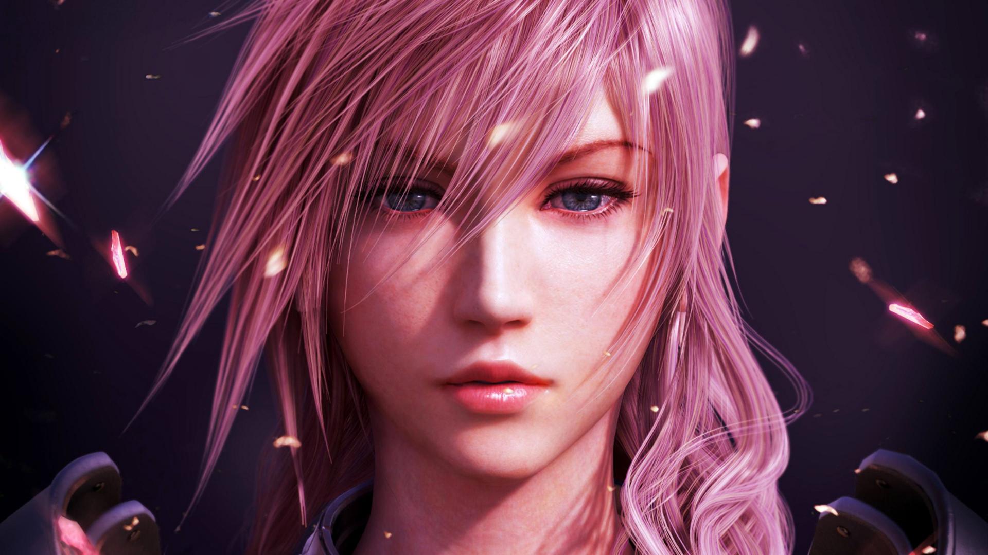 Download 1920x1080 Wallpaper Final Fantasy Lightning Video Game Girl Warrior Full Hd Hdtv Fhd 1080p 1920x1080 Hd Image Background 4239