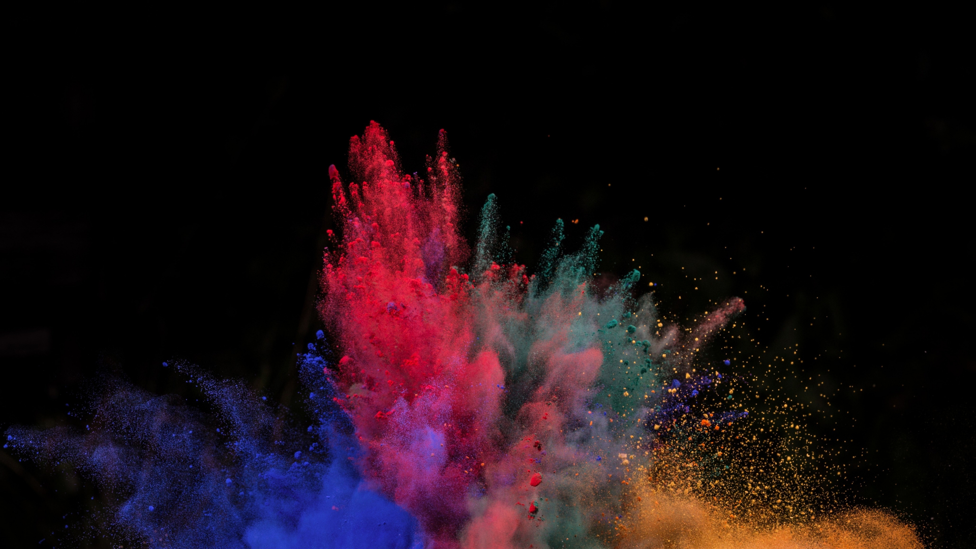 Download 1920x1080 wallpaper color explosion powder 39 s blast full hd hdtv fhd 1080p - 1366x768 is 720p or 1080p ...
