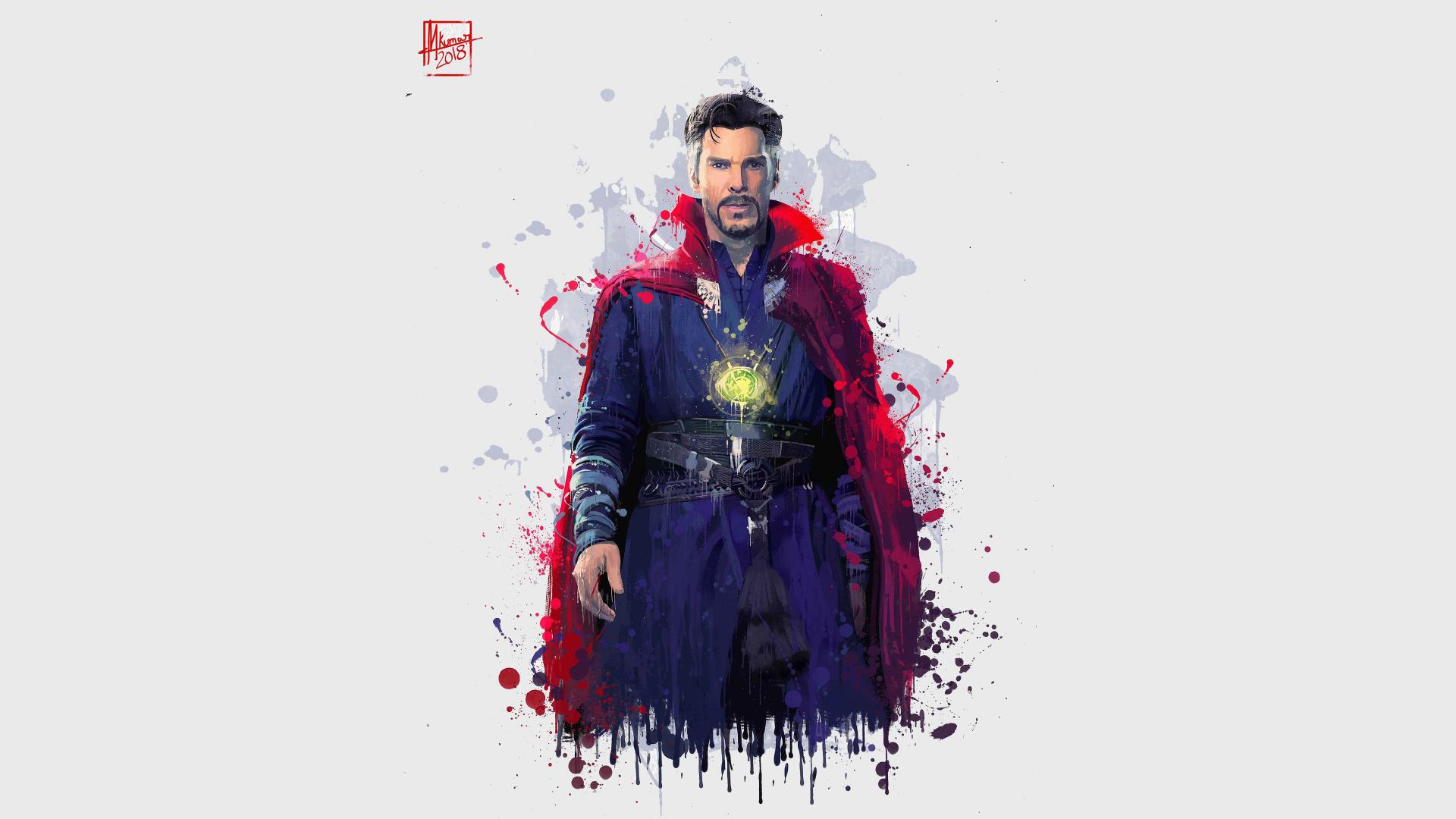 Download 1920x1080 Wallpaper Doctor Strange Avengers Infinity