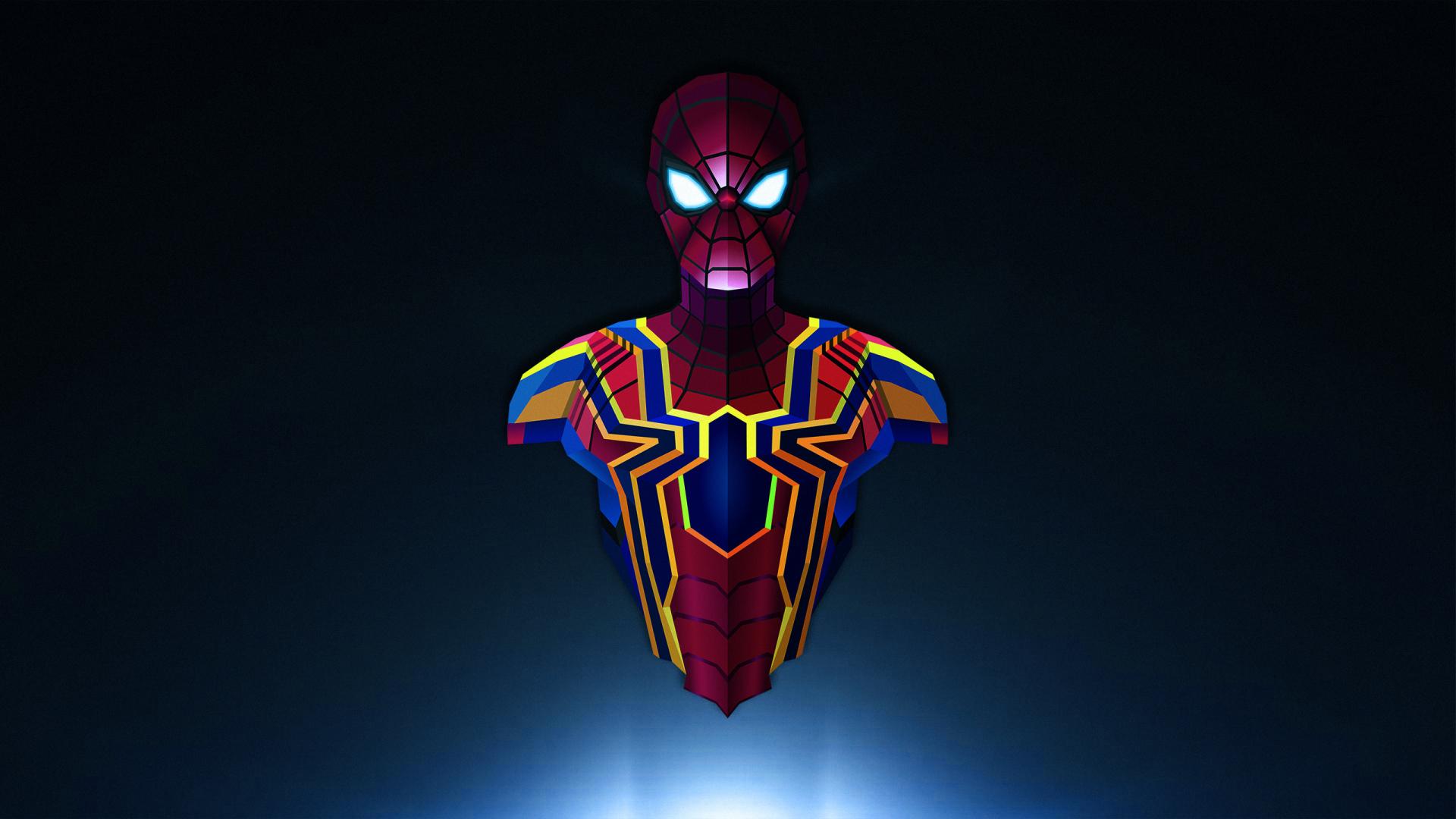 Download 1920x1080 Wallpaper Spider Man Avengers Infinity