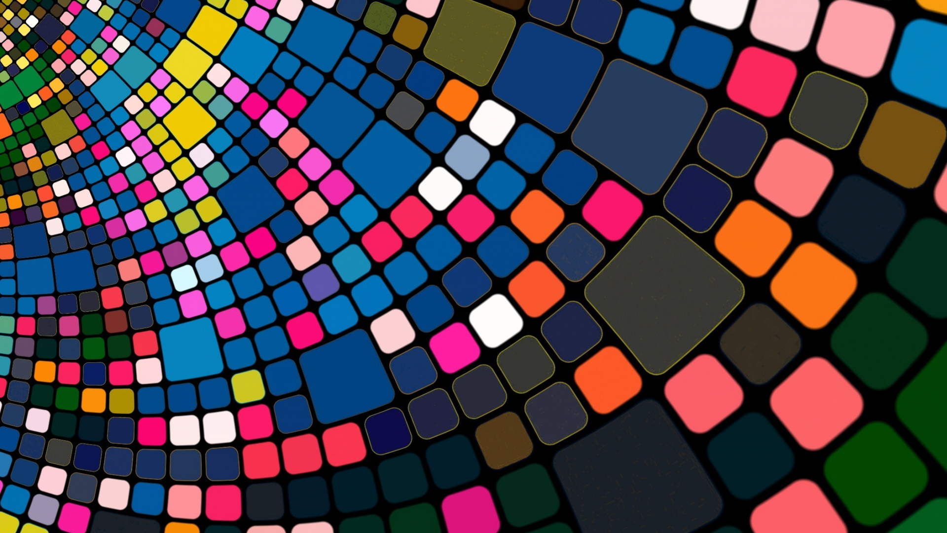 Download 1920x1080 wallpaper abstract, colorful, squares, texture ...