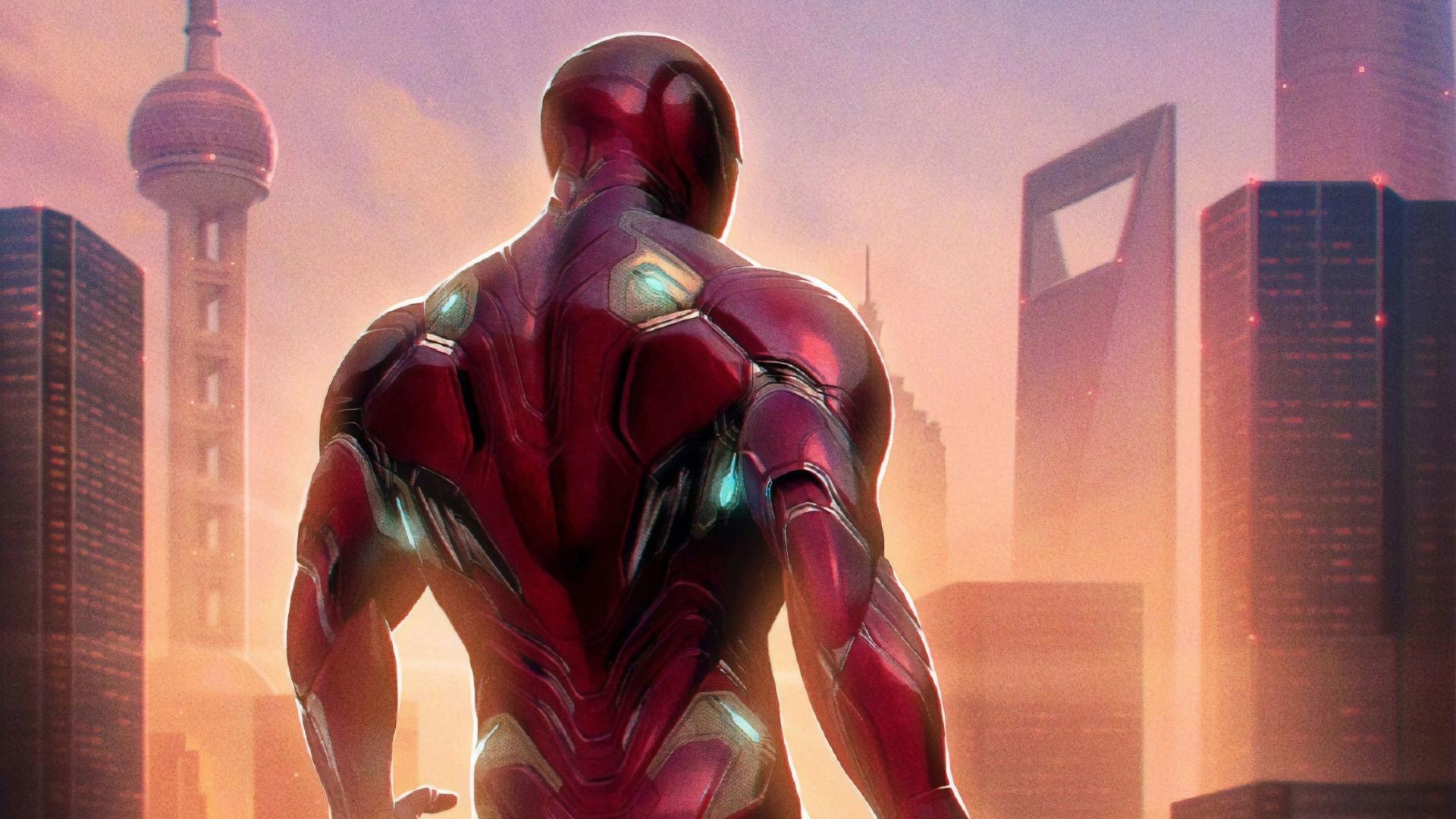 Download 1920x1080 Wallpaper Iron Man 2019 Movie Avengers