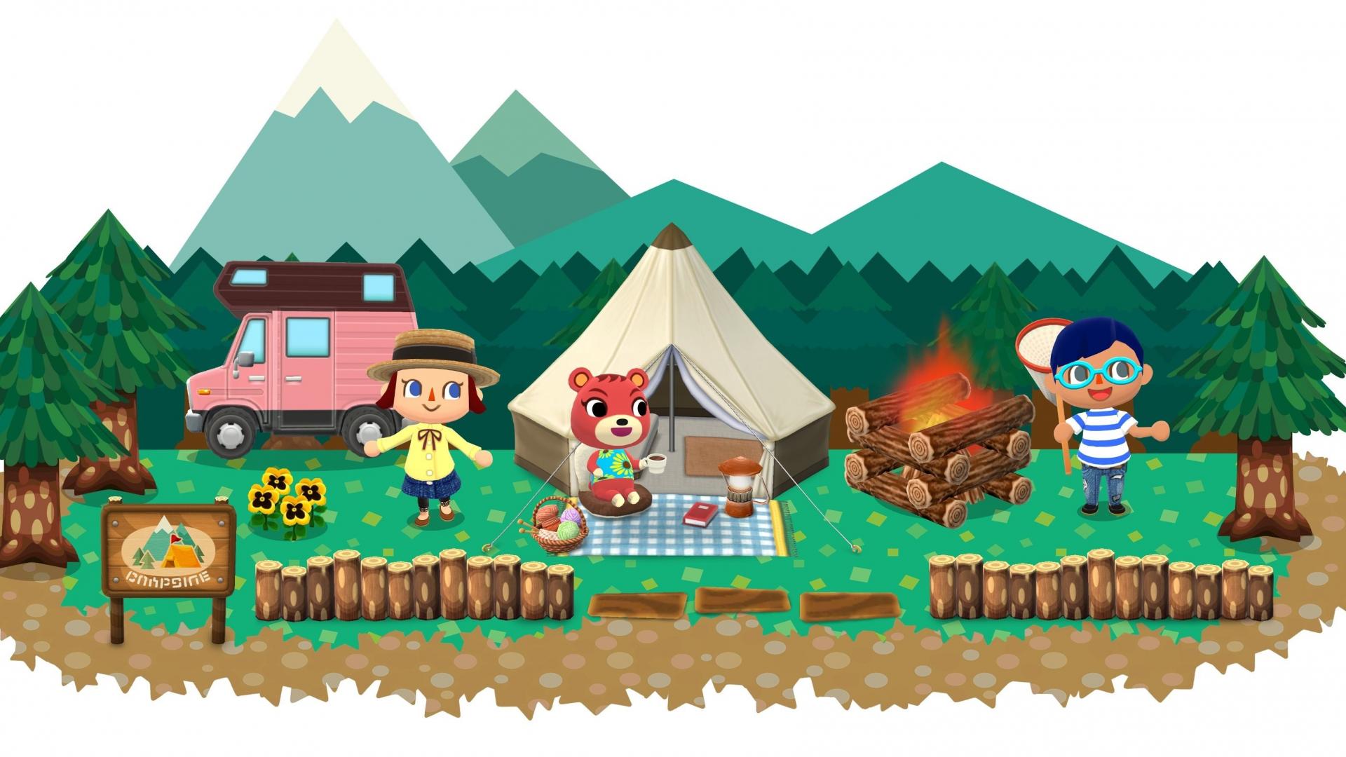 Download 1920x1080 Wallpaper Animal Crossing Pocket Camp