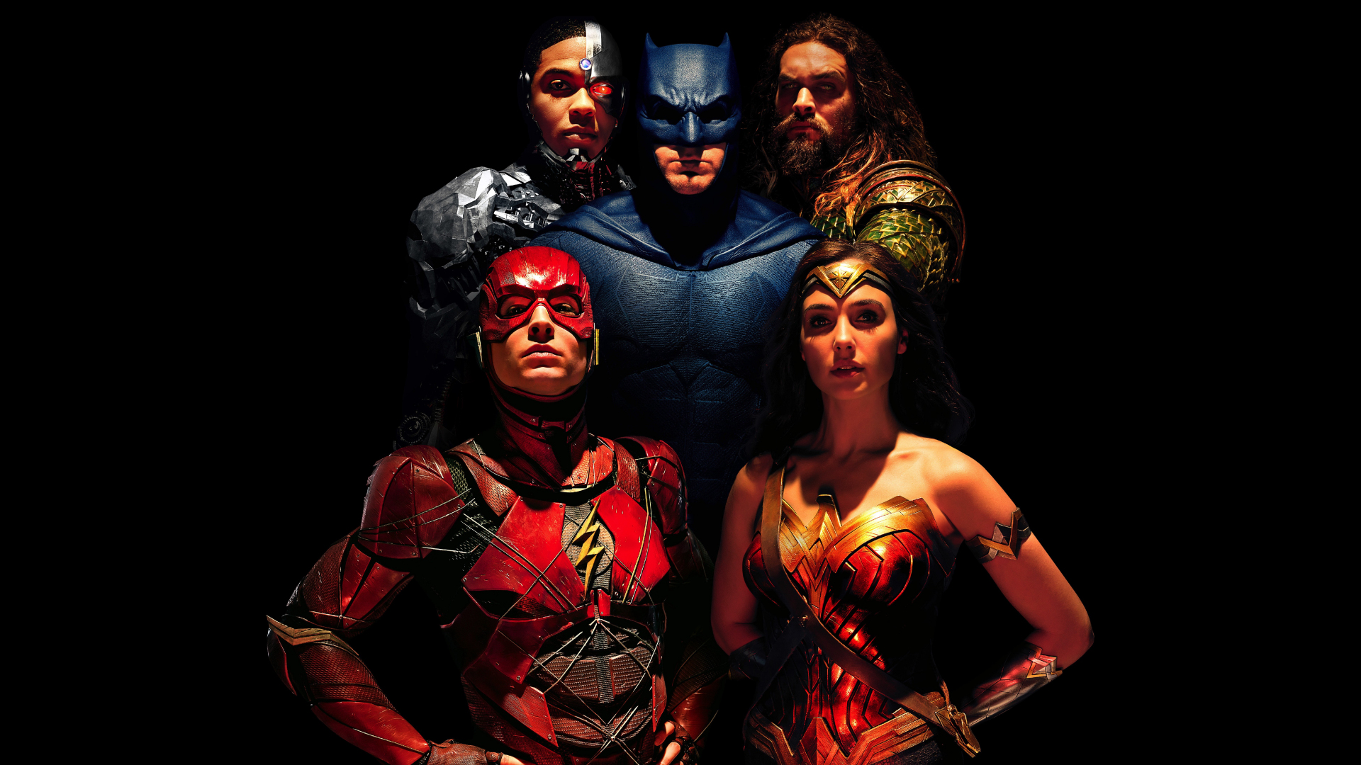 Download 1920x1080 Wallpaper Justice League Team Batman Wonder