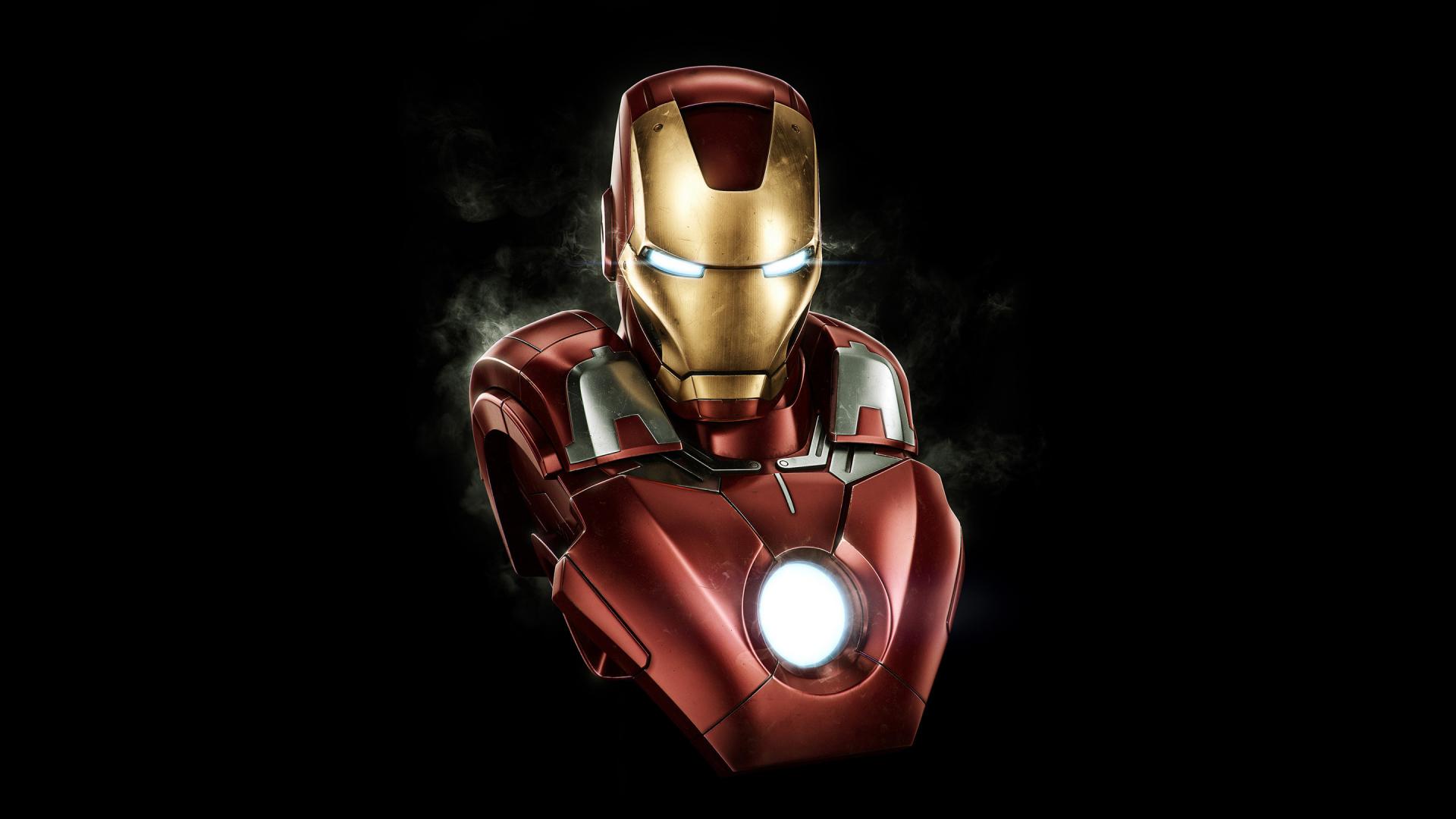 Download 1920x1080 Wallpaper Iron Man Dark Artwork Full Hd