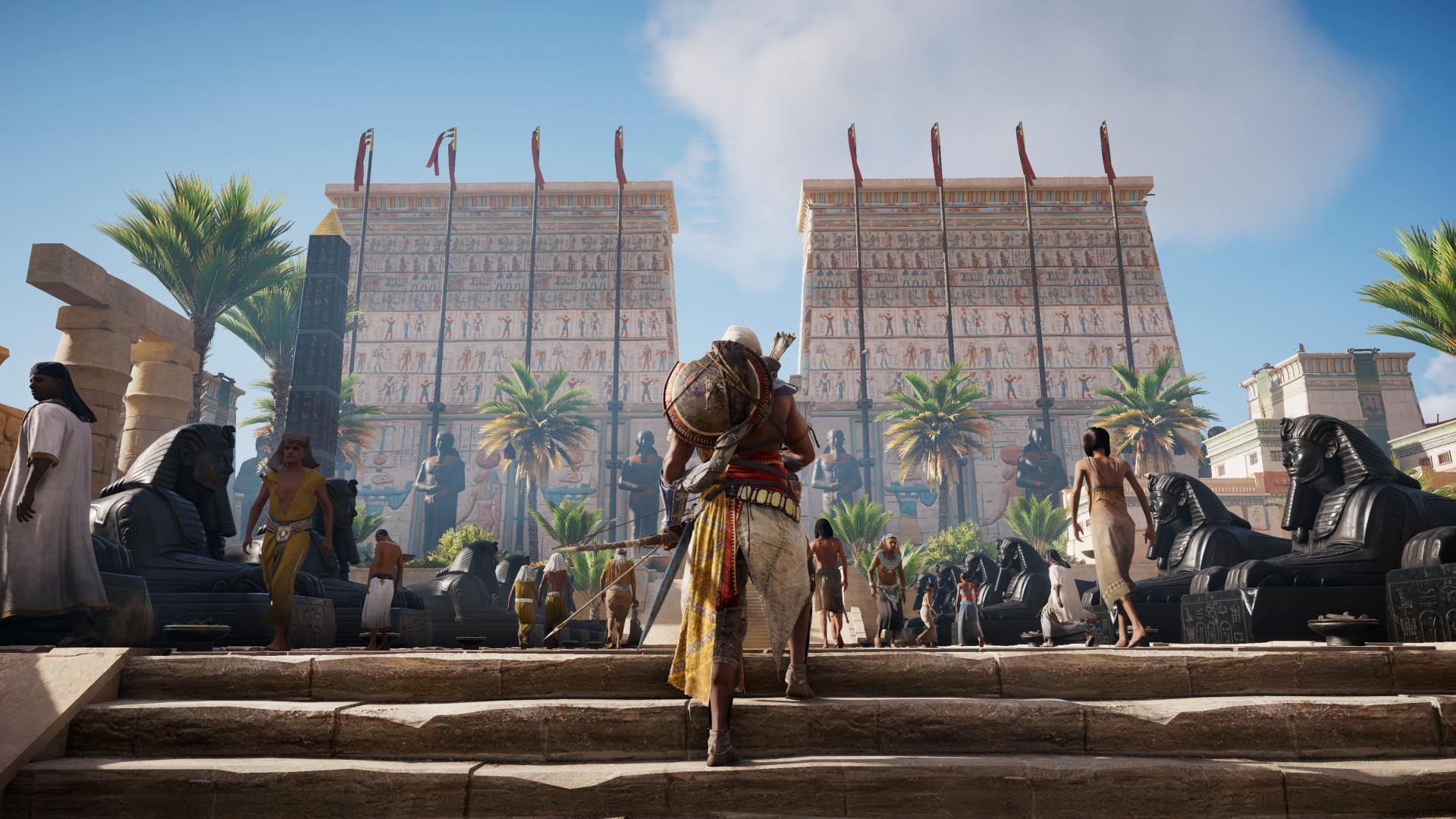 Download 1920x1080 Wallpaper Assassin S Creed Origins Video Game